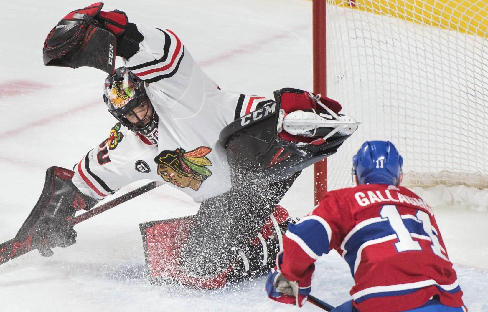Le Canadien a encaissé un deuxième revers d'affilée en s'inclinant 2-0 face aux Blackhawks de Chicago, samedi.