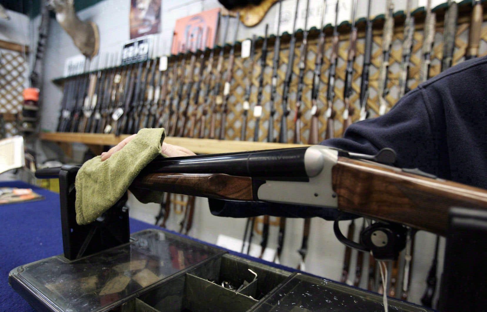 Avant son arrivée au pouvoir, la CAQ avait une position ambiguë dans ce dossier. En juin 2016, 7 des 20 députés caquistes s'étaient opposés à l'adoption de la Loi sur l'immatriculation des armes à feu.