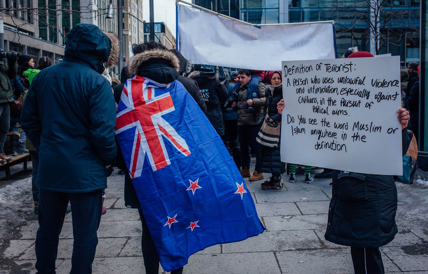 Un rassemblement en hommage aux victimes de l'attentat de Christchurch a lieu dimanche, à Montréal.
