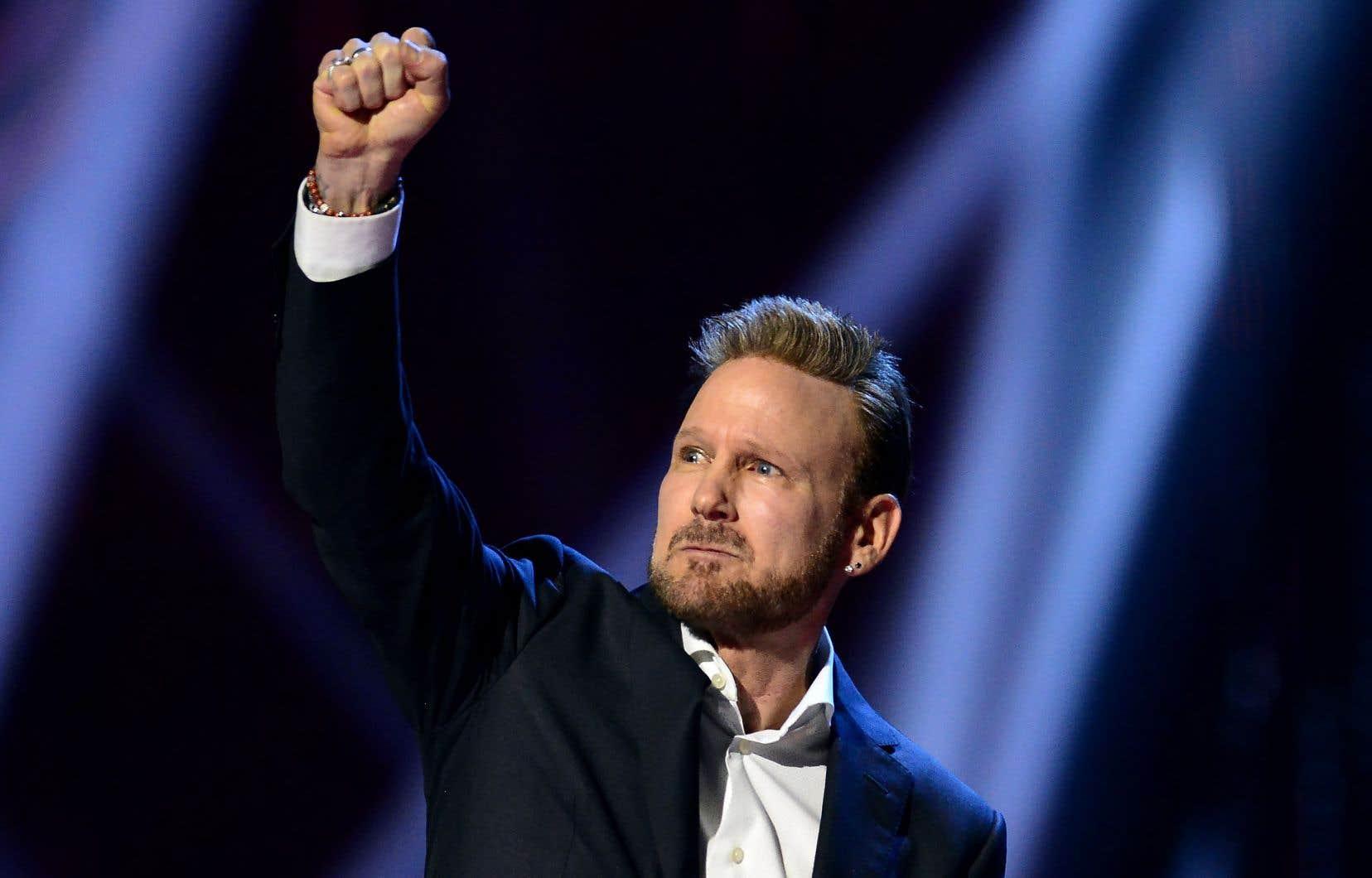 Un hommage à la carrière du chanteur montréalais Corey Hart a été l'un des attraits principaux du gala.