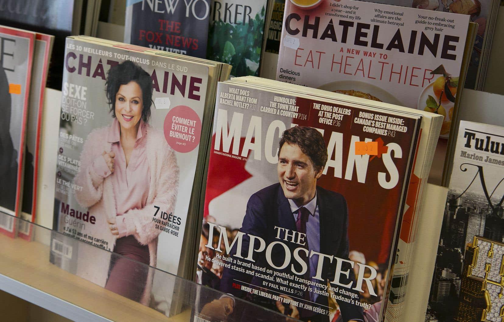 L'acheteur, St. Joseph Communications, souhaite donner un nouveau souffle au grand magazine d'affaires publiques «Maclean's».