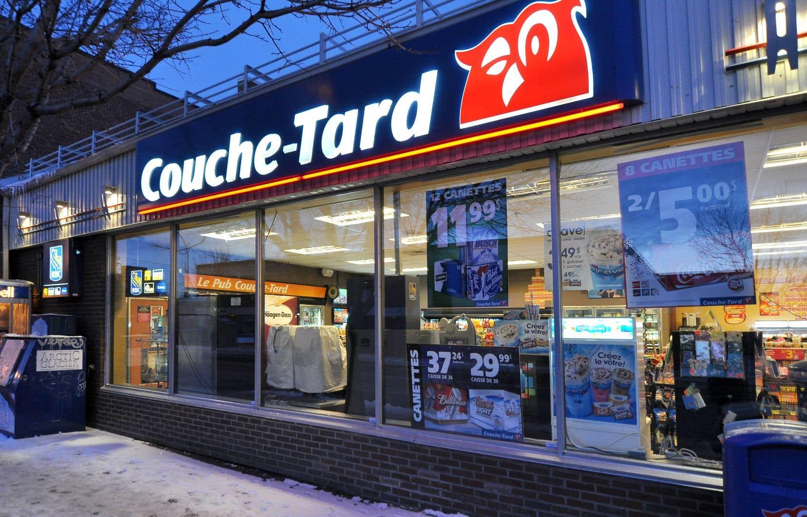 L'action de Couche-Tard a gagné 2¢, ou 0,03%, pour clôturer à 72,20$ à la Bourse de Toronto.