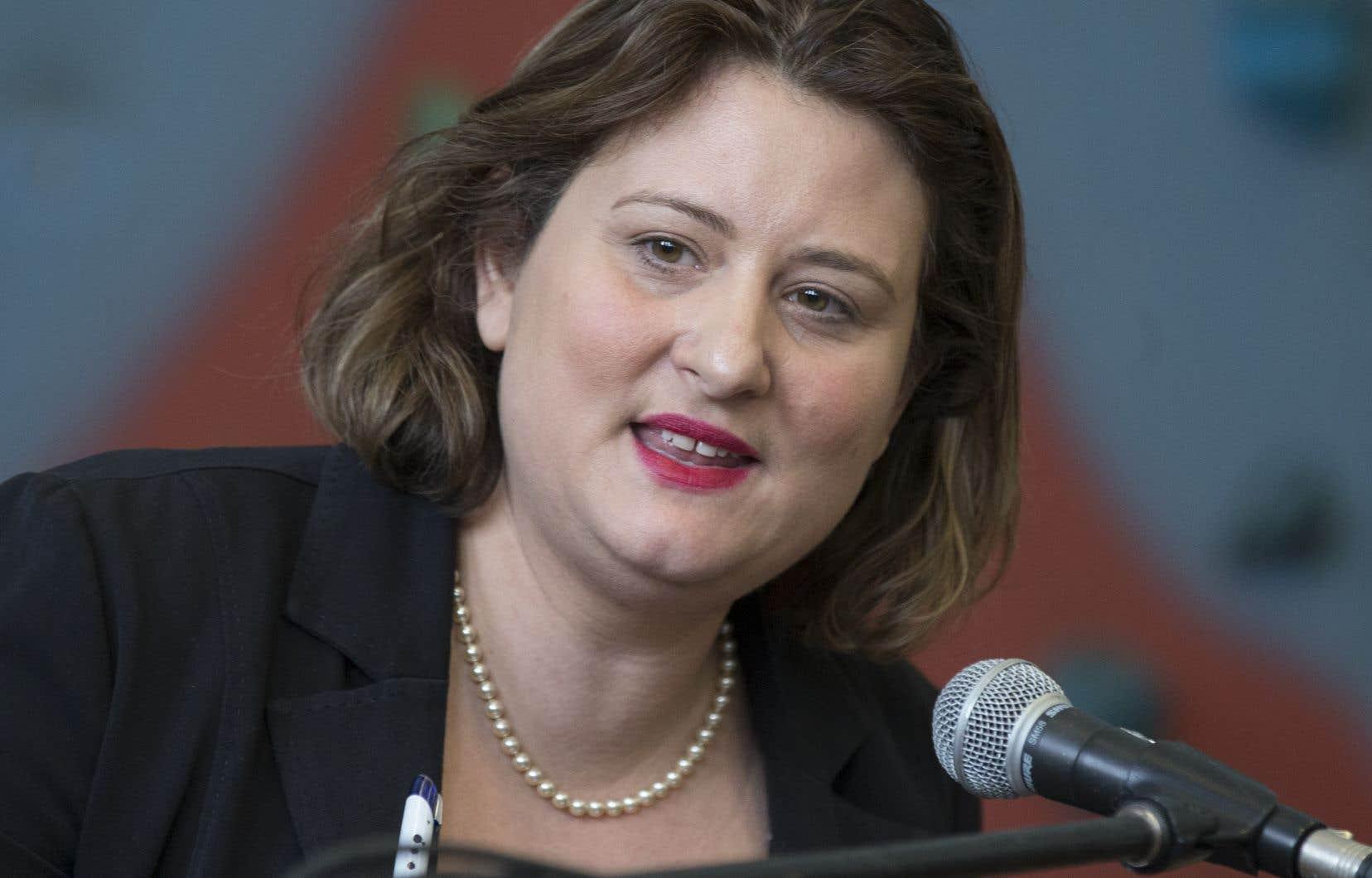 Catherine Harel Bourdon, présidente de la Commission scolaire de Montréal, espère que le nouveau budget comportera des mesures contre la pénurie de personnel qui touche toutes les professions en éducation.