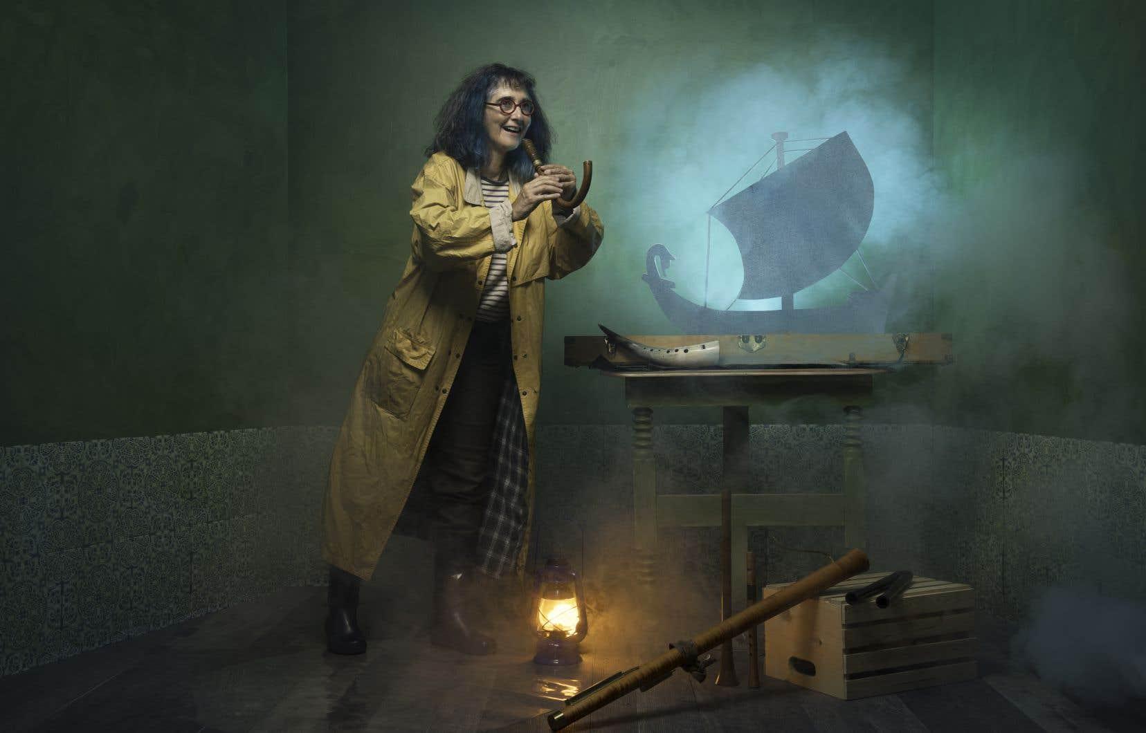 Suzanne De Serres livrera un conte musical inspiré du mythique «Ulysse» d'Homère.