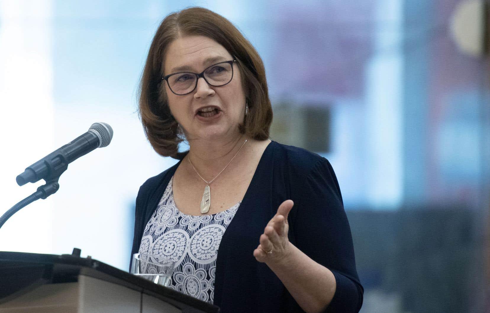 L'ancienne ministre Jane Philpott pense qu'il reste encore beaucoup de choses à dire sur le scandale SNC-Lavalin.