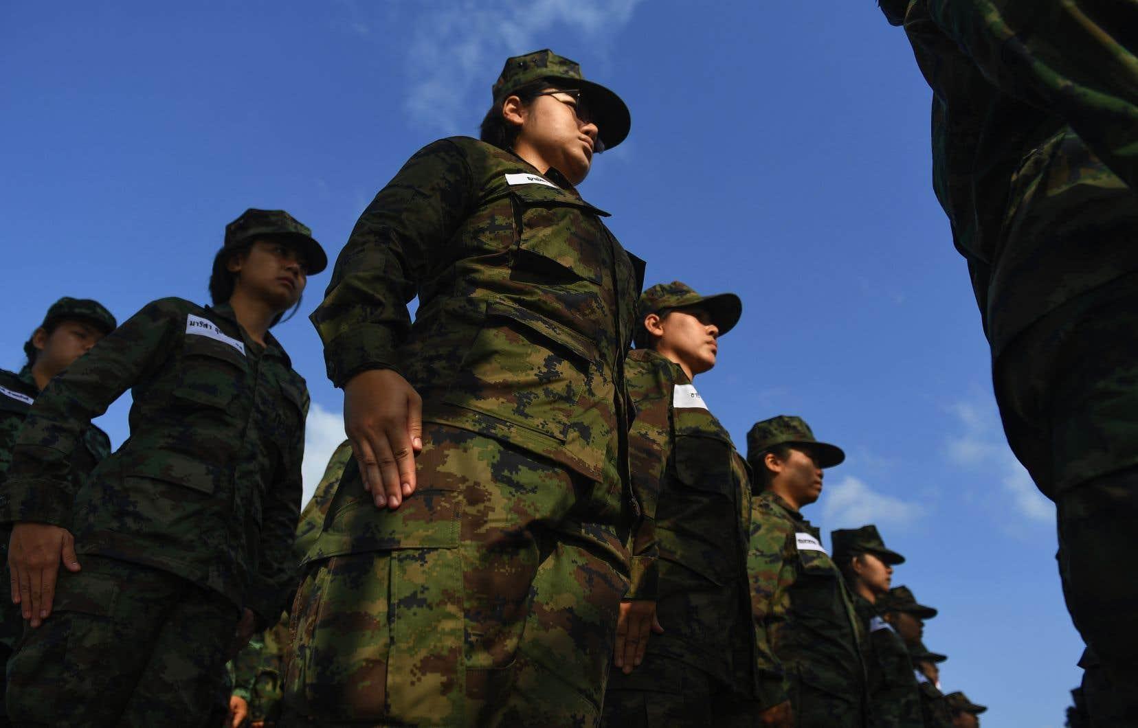 Depuis le coup d'État de 2014, la junte militaire est à la tête du pays.
