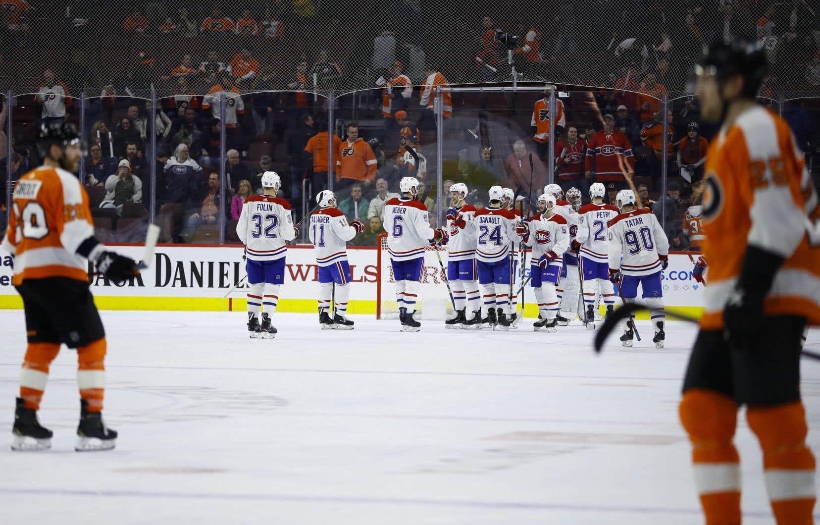 Le Canadien a battu les Flyers de Philadelphie, le 19 mars dernier.
