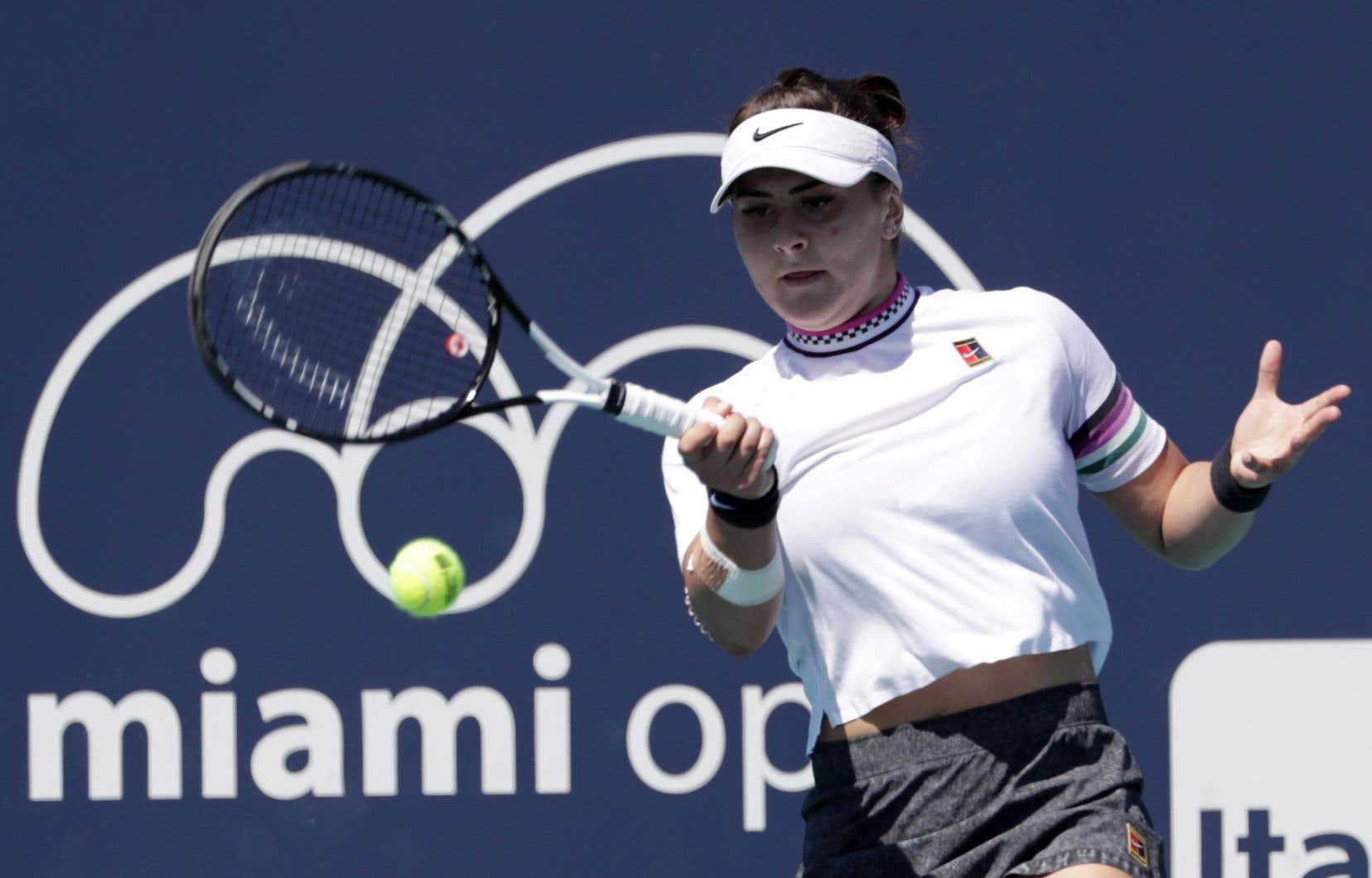 Pour la Canadienne Bianca Andreescu, il s'agit d'une trentième victoire en 33 matchs cette année.