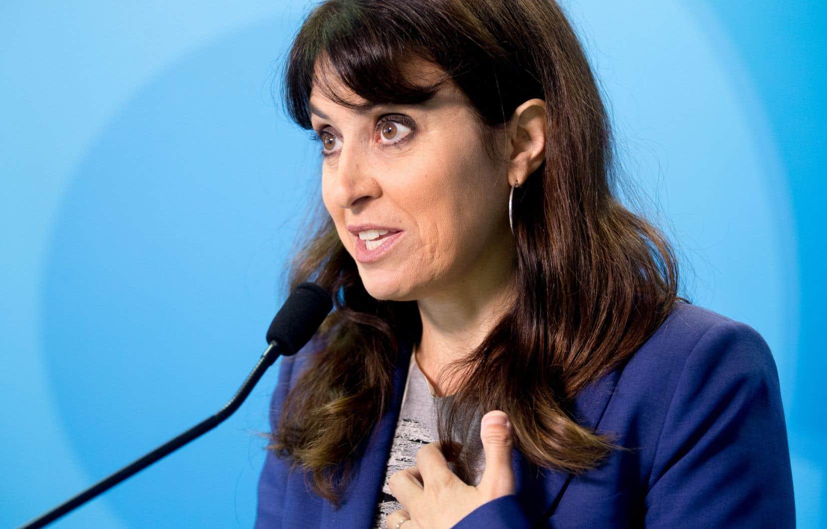 VéroniqueHivon figure parmi les éventuelles candidates pressenties à la direction du Parti québécois.
