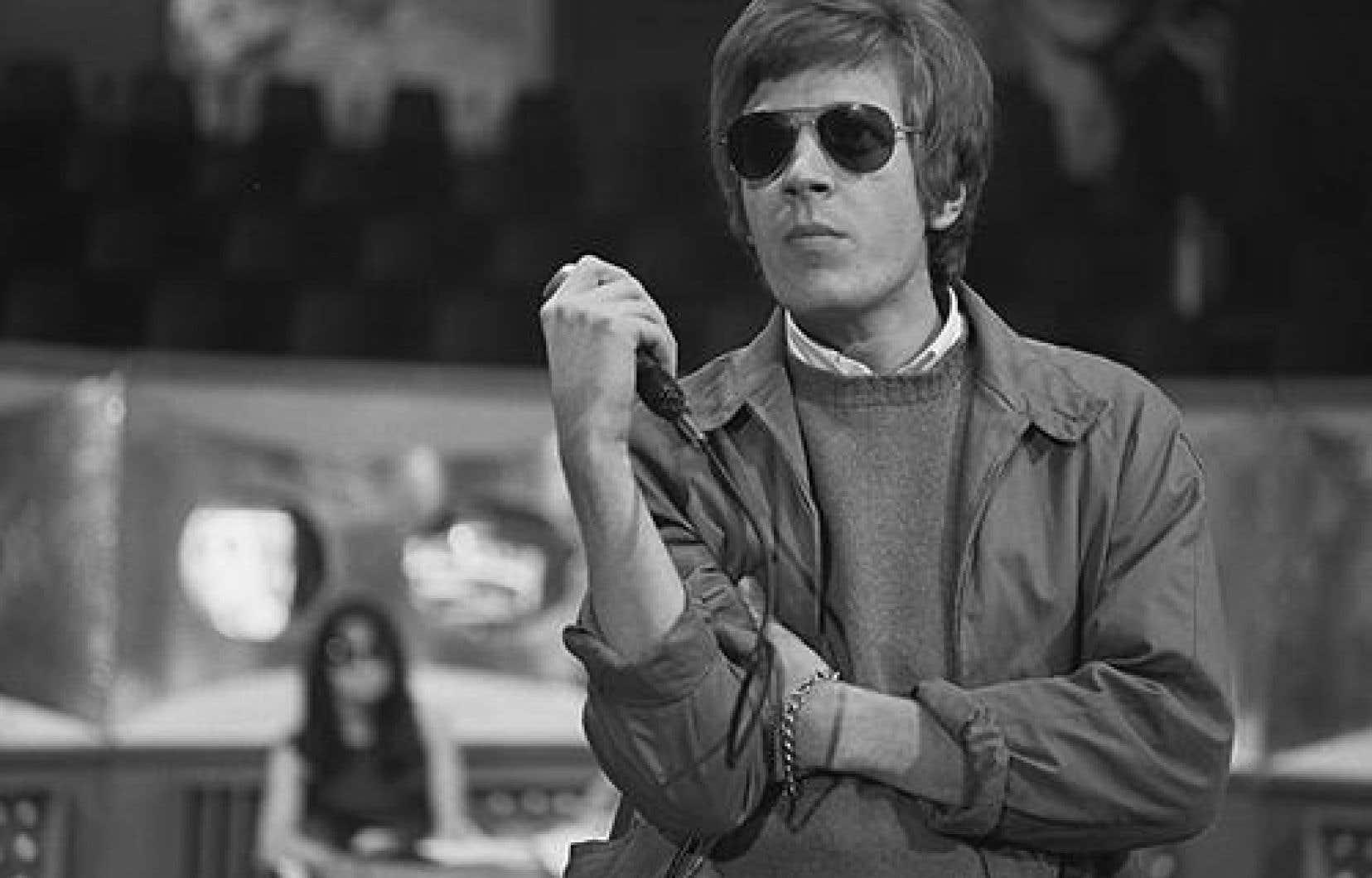 Scott Walker, en 1968, au début de sa carrière solo