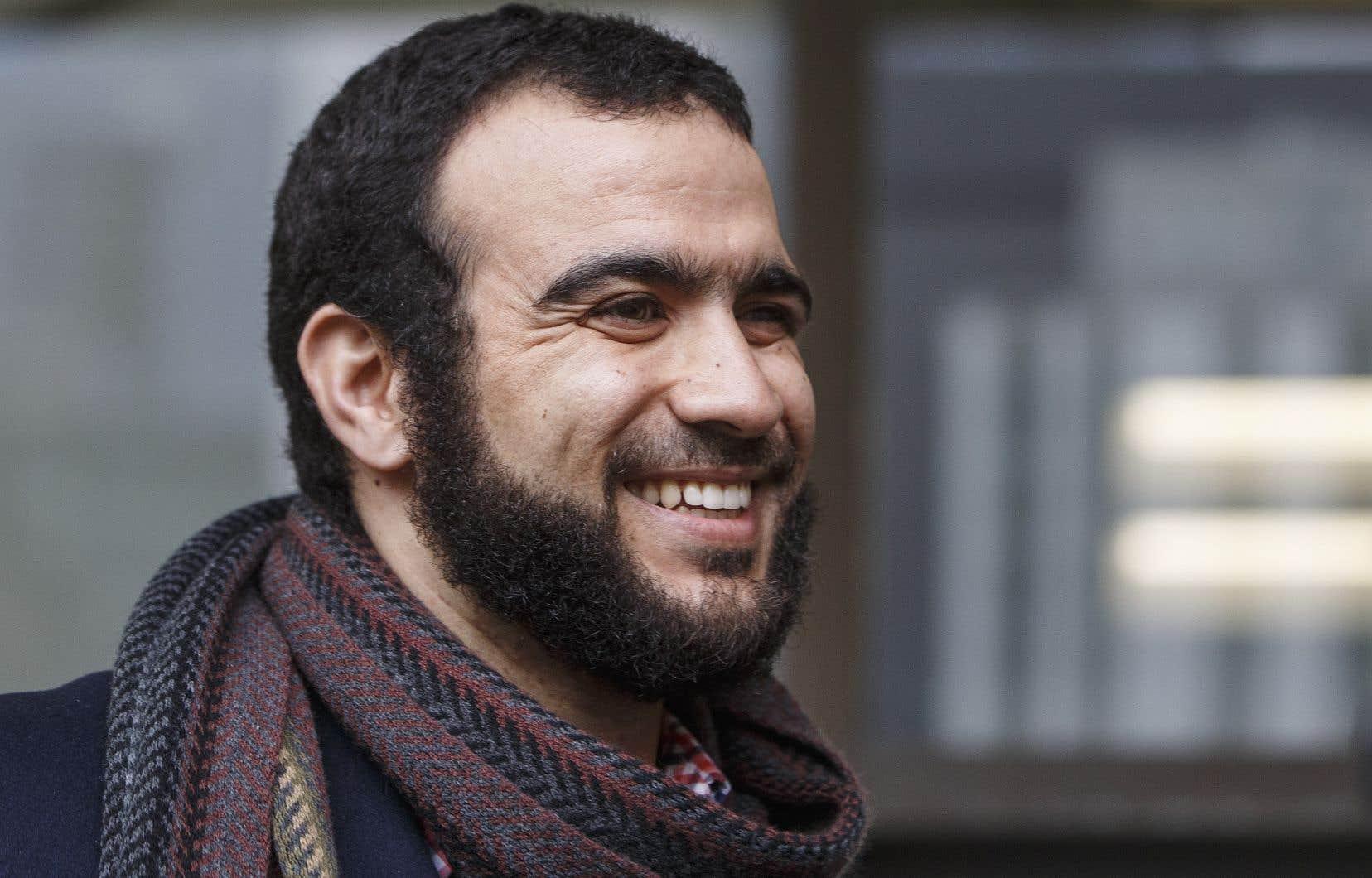 Omar Khadr a retrouvé sa pleine liberté lundi.