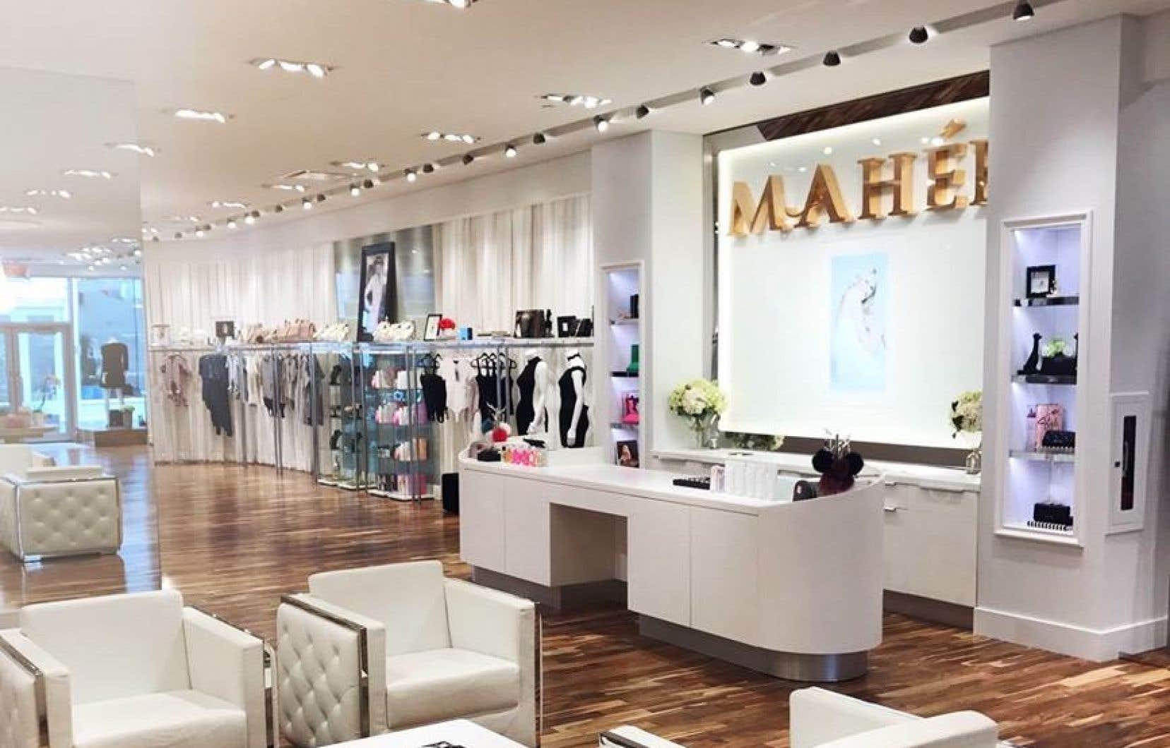Selon la poursuite déposée par la Banque de développement du Canada, celle-ci a prêté 300000?$ à l'entreprise Mahée Parfums, sans recevoir aucun remboursement depuis plusieurs mois.