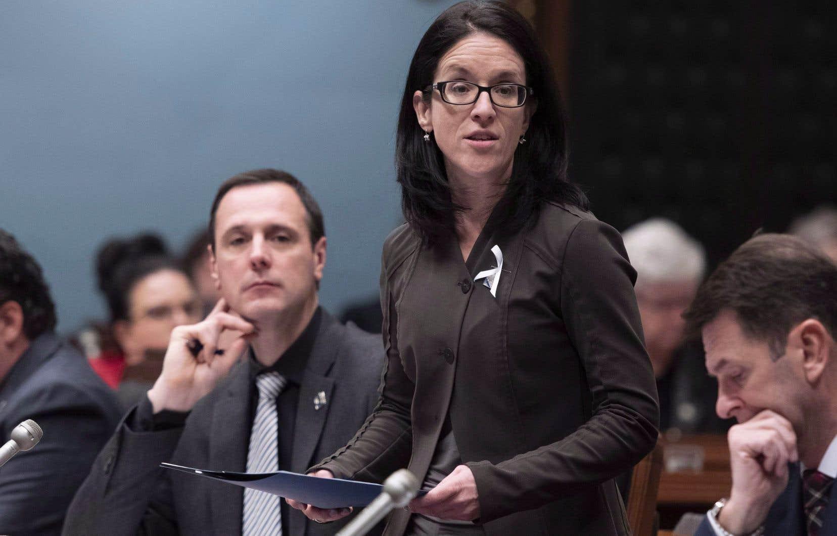 La ministre québécoise de la Justice, Sonia LeBel