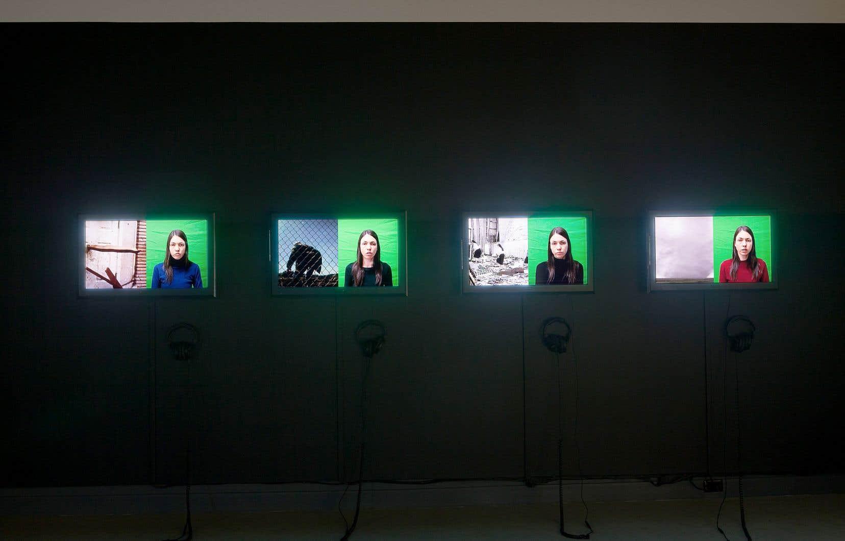 Myriam Jacob-Allard, «Les quatre récits d'Alice», 2019