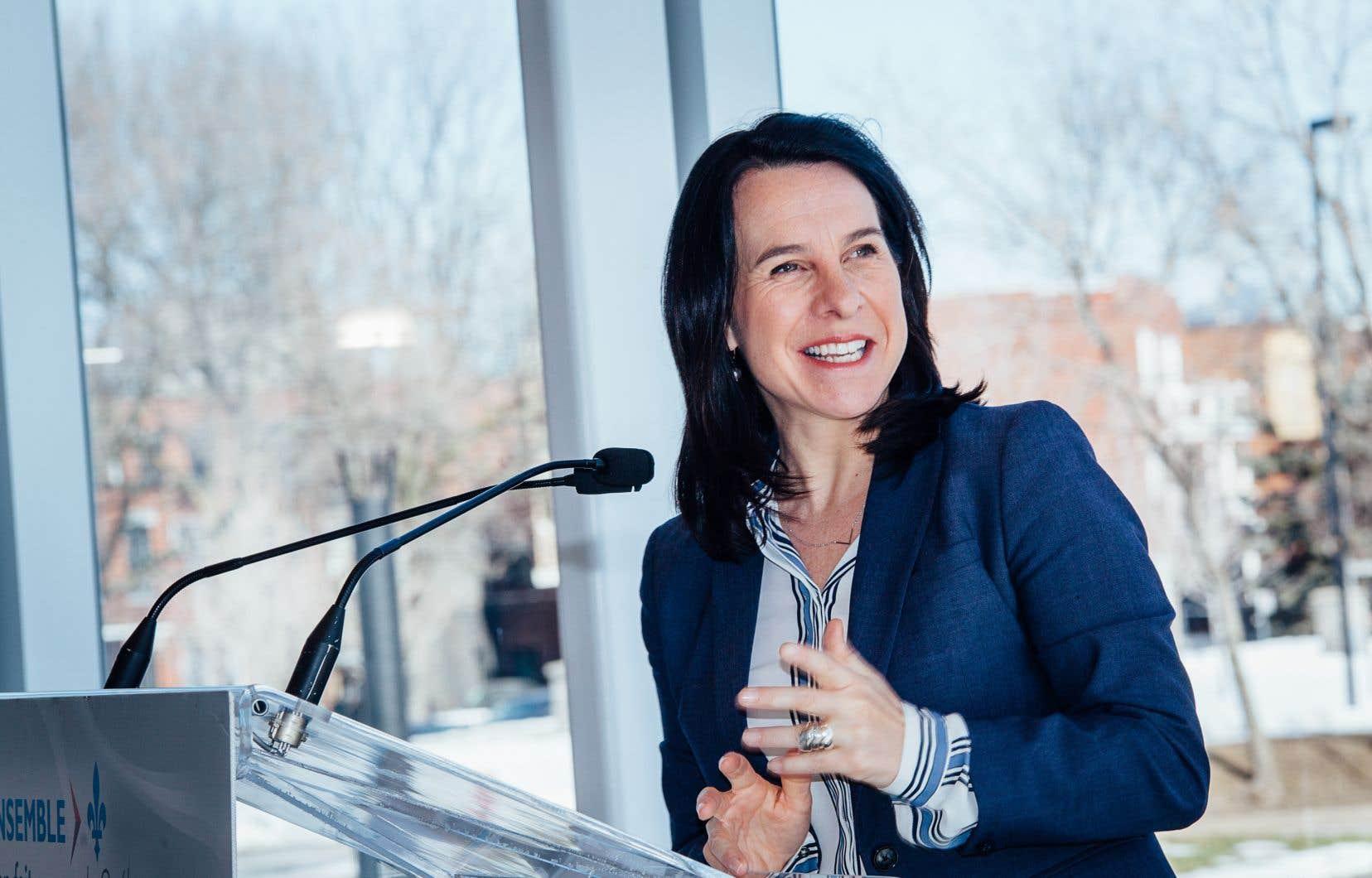 Valérie Plante, mairesse de Montréal.