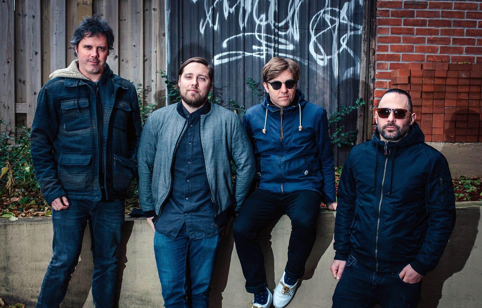 Le quatuor rock faisait sa rentrée montréalaise vendredi soir au MTelus.