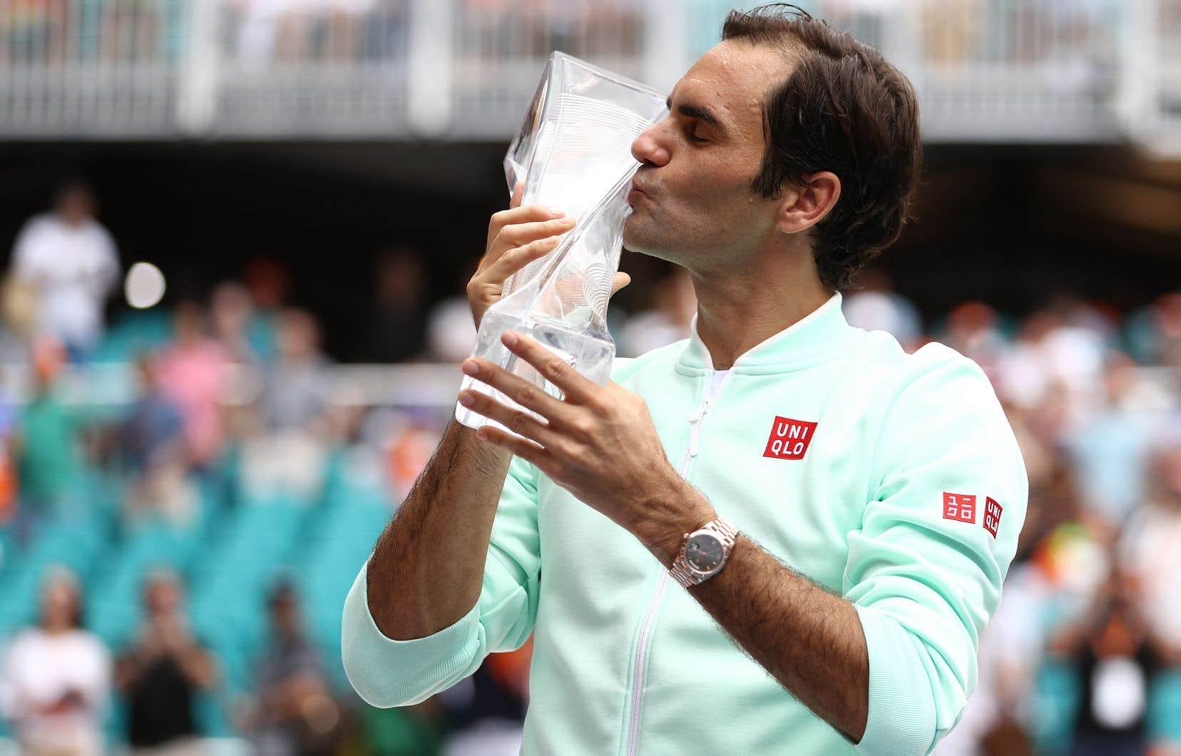 Federer avait remporté le tournoi de Dubai le 2mars dernier et s'est incliné en finale à Indian Wells il y a deux semaines contre l'Autrichien Dominic Thiem.