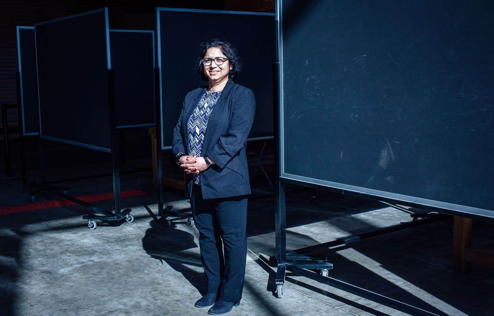 «On a beaucoup de travail à faire, parce que le réseau de transport en commun est arrivé à saturation», souligne Anjali Awasthi.