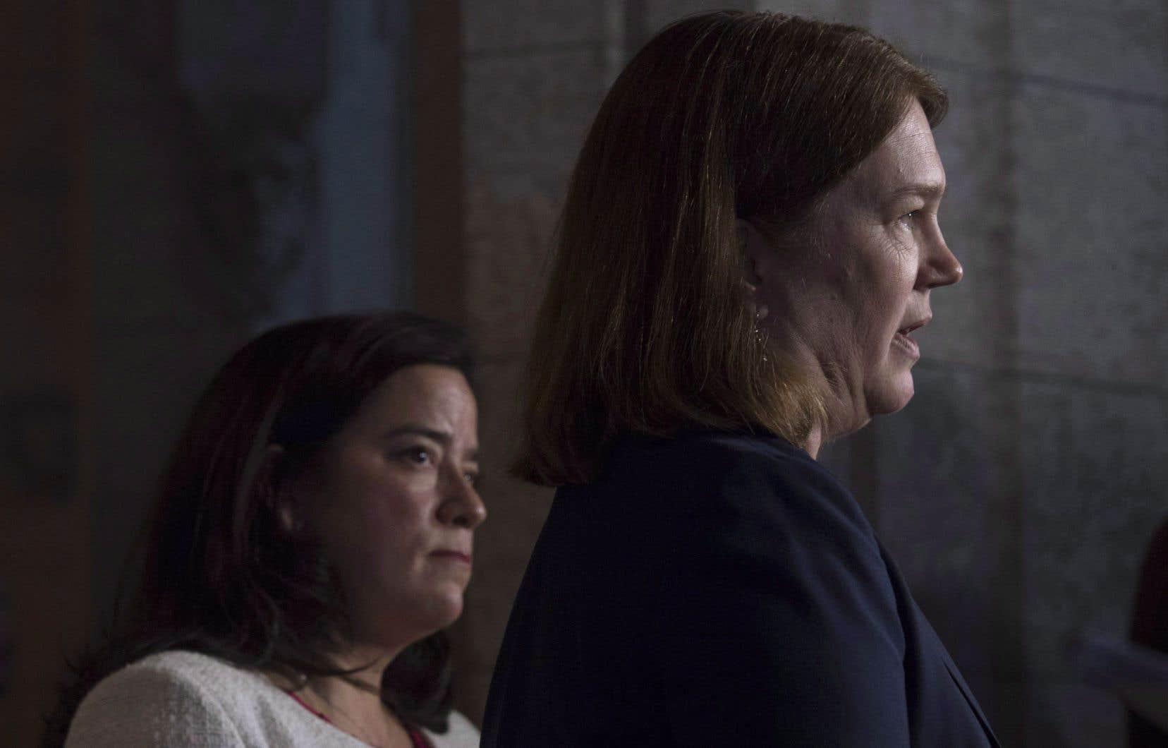 Les ex-ministres Jody Wilson-Raybould et Jane Philpott