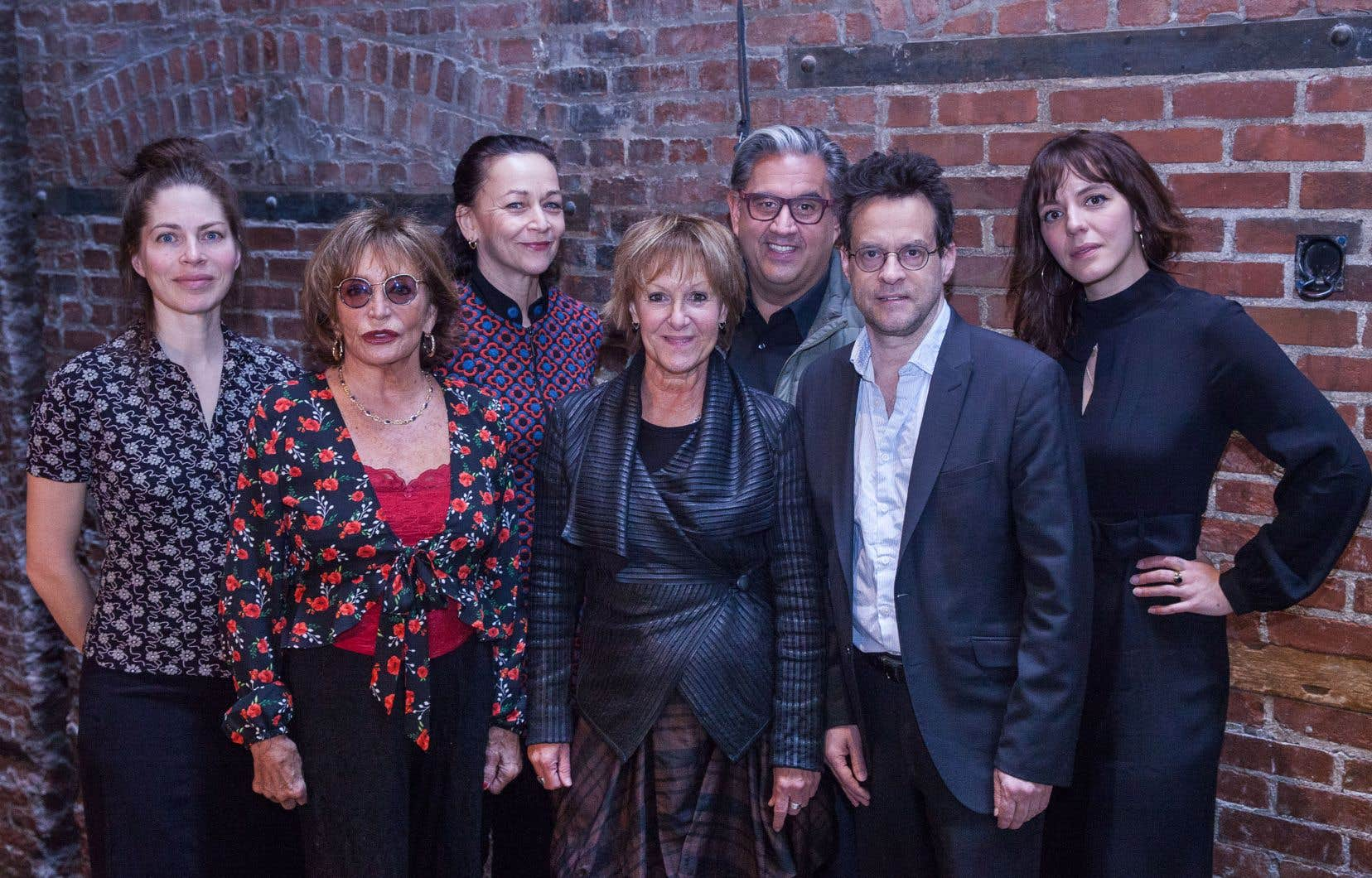 Noémie Godin-Vigneau, Louise Marleau, Sylvie Drapeau, Lorraine Pintal, Marc Hervieux, Alexis Martin et Monia Chokri