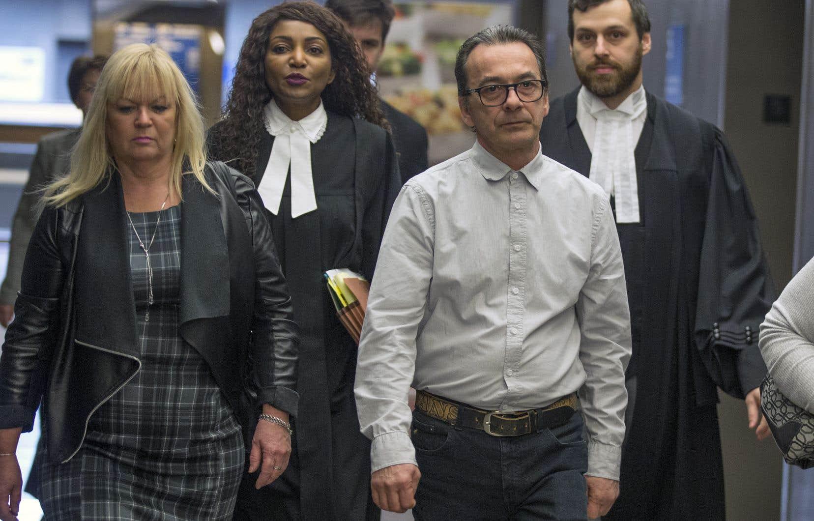 Un jury a déclaré Michel Cadotte coupable de l'homicide involontaire de sa femme le 23 février dernier.