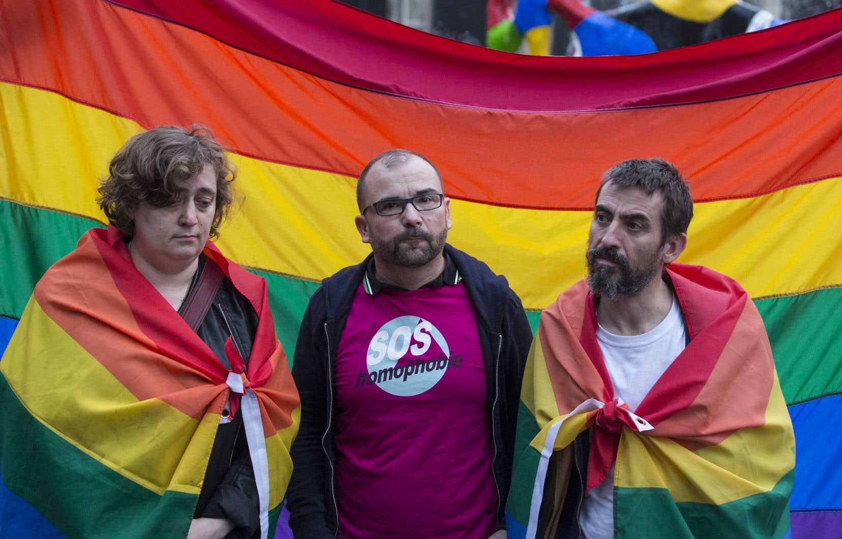 Le nombre d'agressions à caractère transphobe a fait un bond de 54 % en 2017 en France, selon le rapport annuel 2018 de l'association SOS Homophobie.