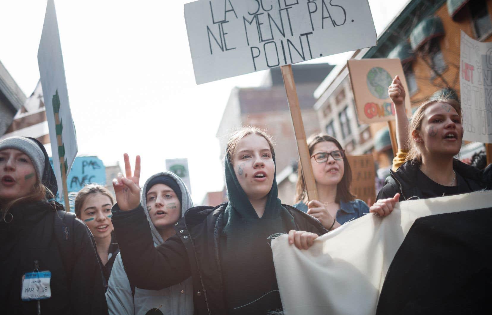 À voir le nombre de personnes dans la rue pour le climat le 15mars dernier, les scientifiques ne devraient pas rencontrer trop de difficultés à trouver des citoyens prêts à se mobiliser pour larecherche sur l'avenir de la planète.