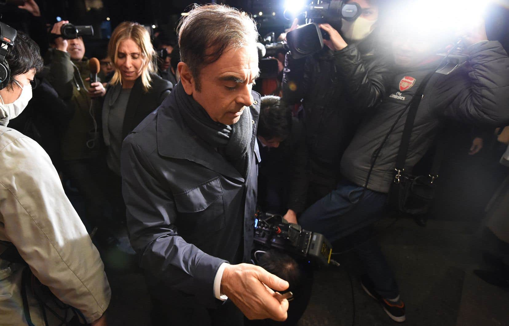 Carlos Ghosn,ex-p.-d.g. de Renault-Nissan