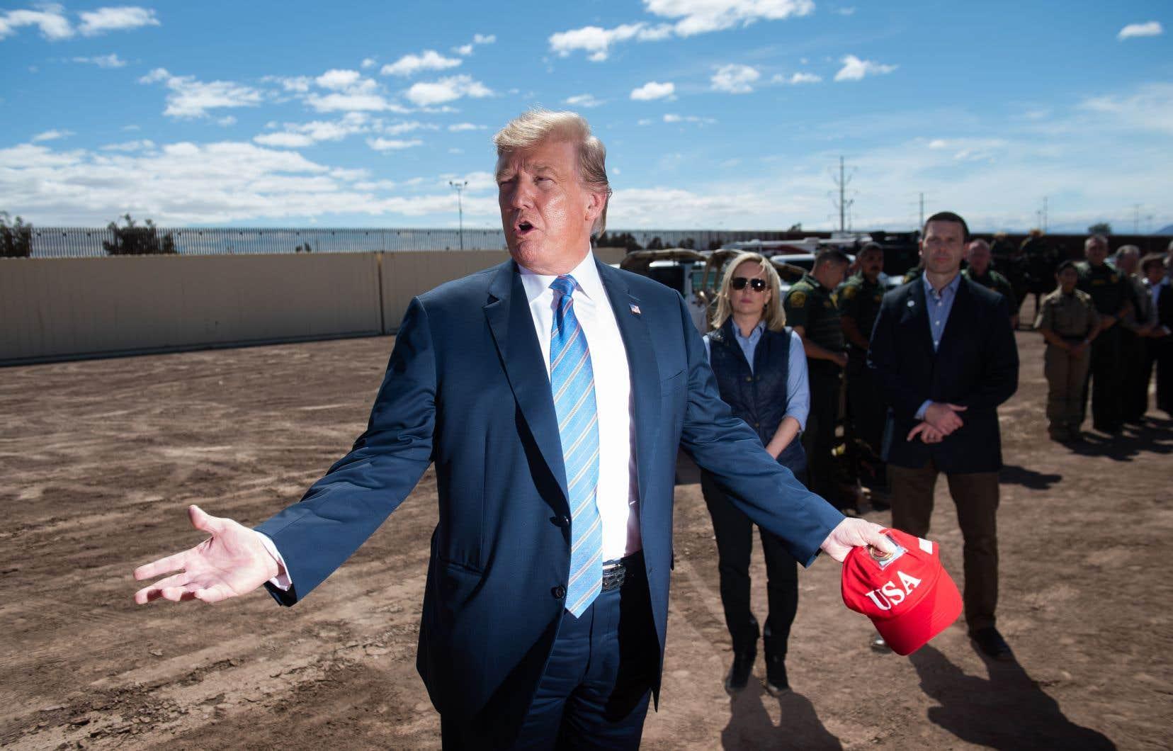 «Le Mexique se comporte de manière absolument fantastique depuis quatre jours. Ils arrêtent tout le monde», a affirmé le président des États-Unis, Donald Trump.