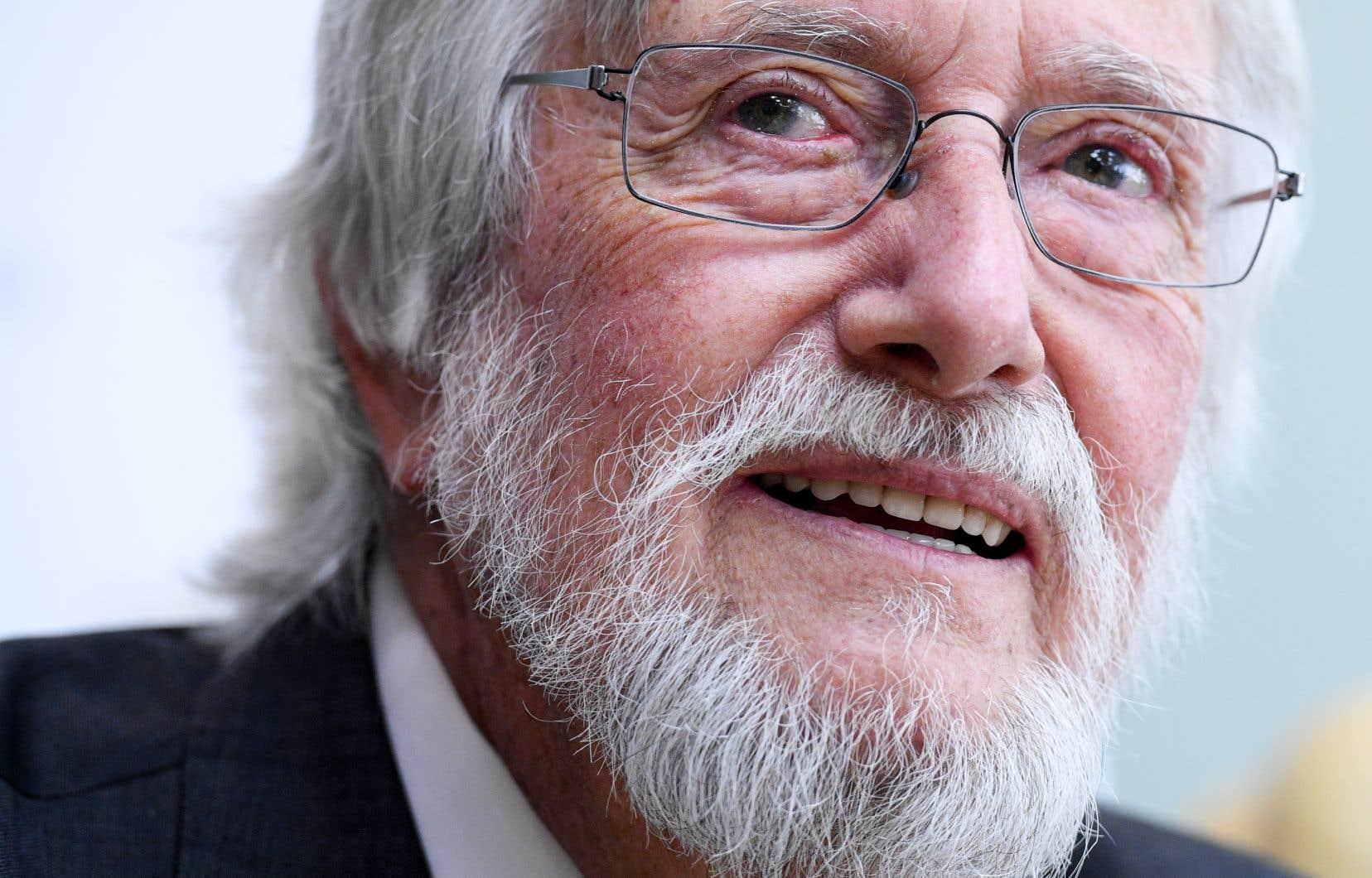 Jean-Michel Cousteau, 80ans, est le fondateur de l'association Ocean Futures Society.
