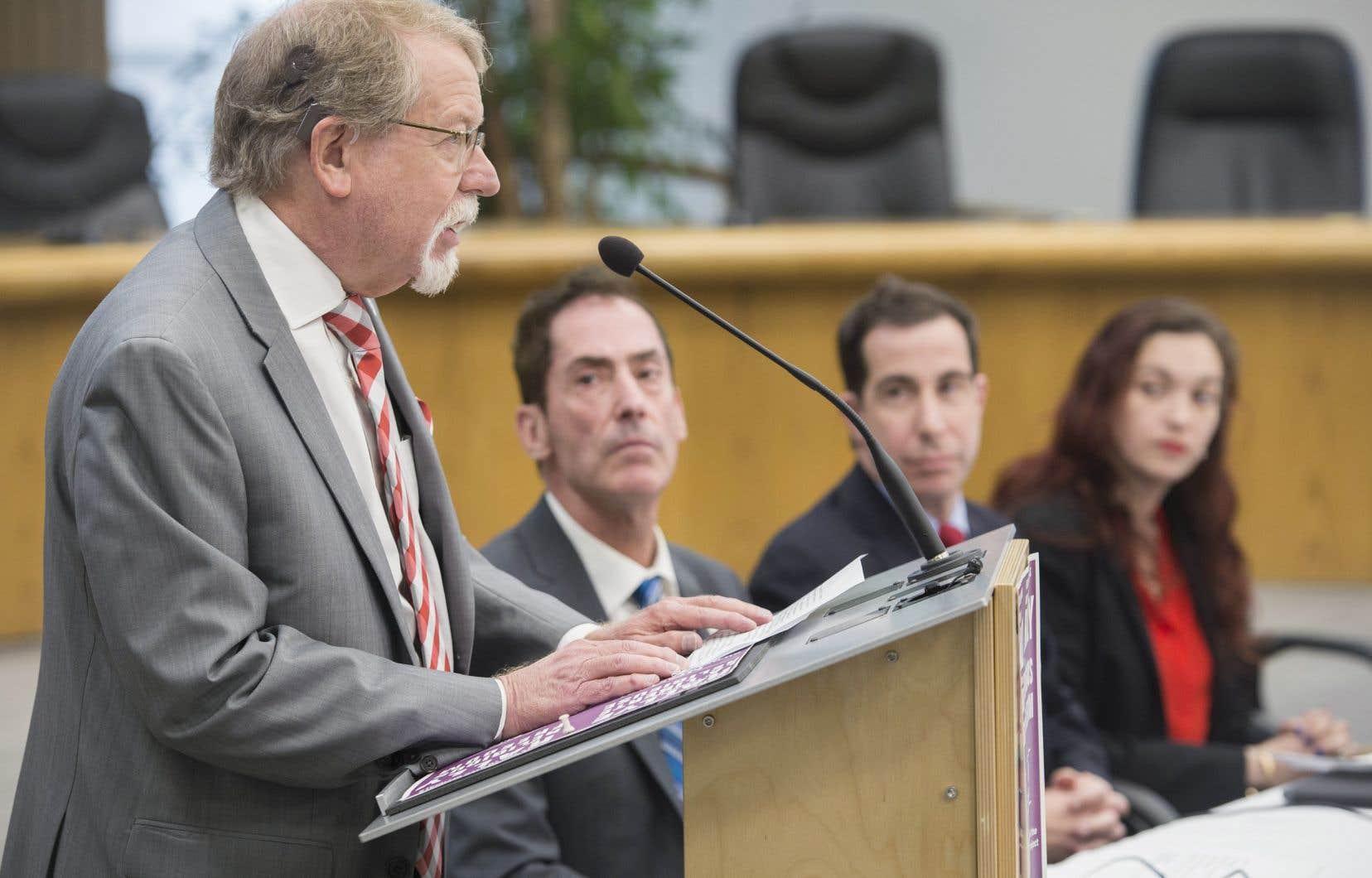 William Steinberg a affirmé vendredi dernier que le projet de loi sur la laïcité représente une forme de «nettoyage ethnique».