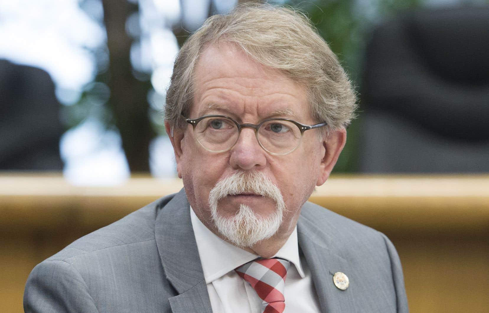 Malgré les appels répétés des élus de l'Assemblée nationale, William Steinberg se refuse à présenter ses excuses pour avoir décrit le projet de loi 21 comme un «nettoyage ethnique pacifique» de la part du gouvernement Legault.