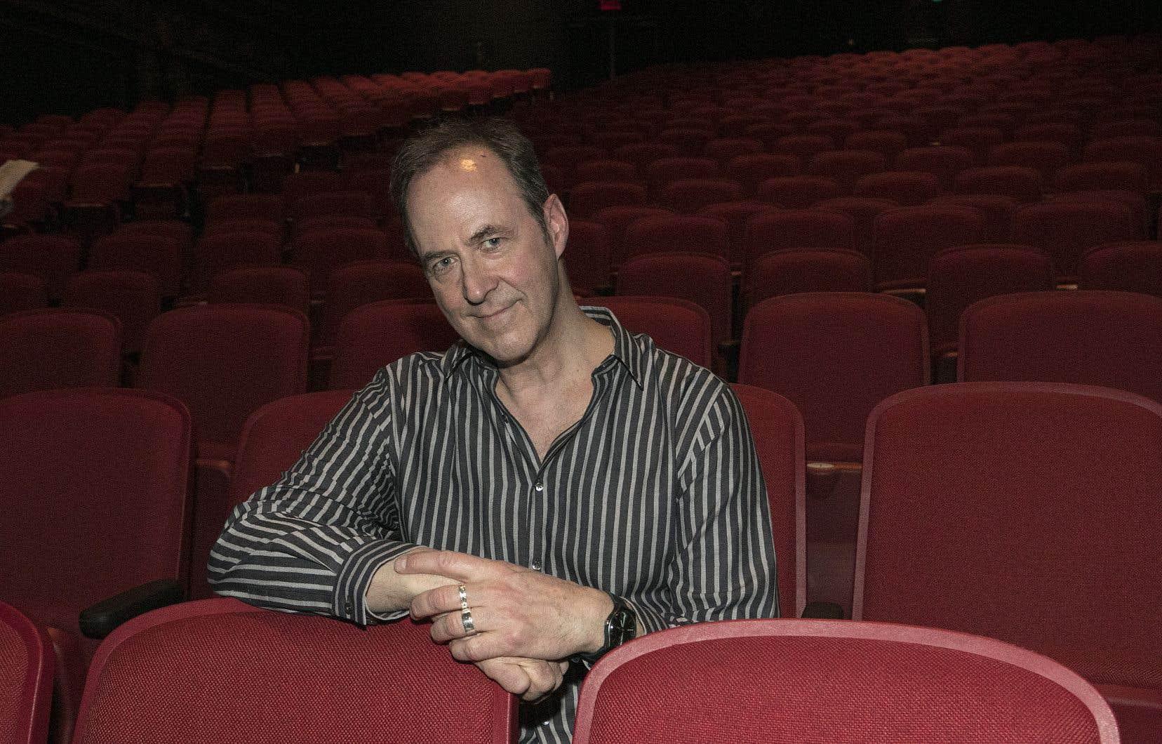Claude Poissant, directeur artistique du Théâtre Denise-Pelletier