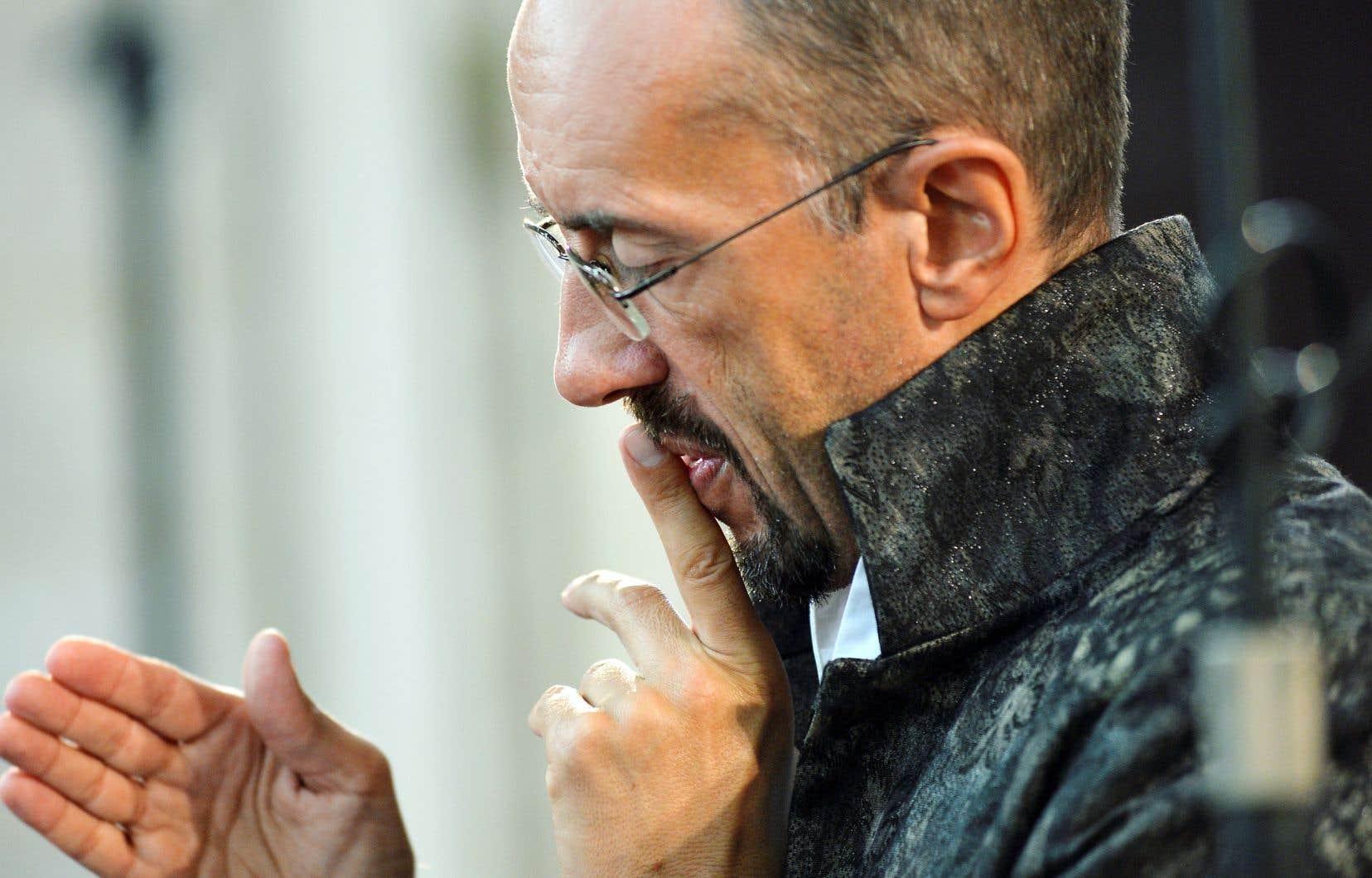 Le chef français Hervé Niquet, éminent spécialiste de la musique baroque