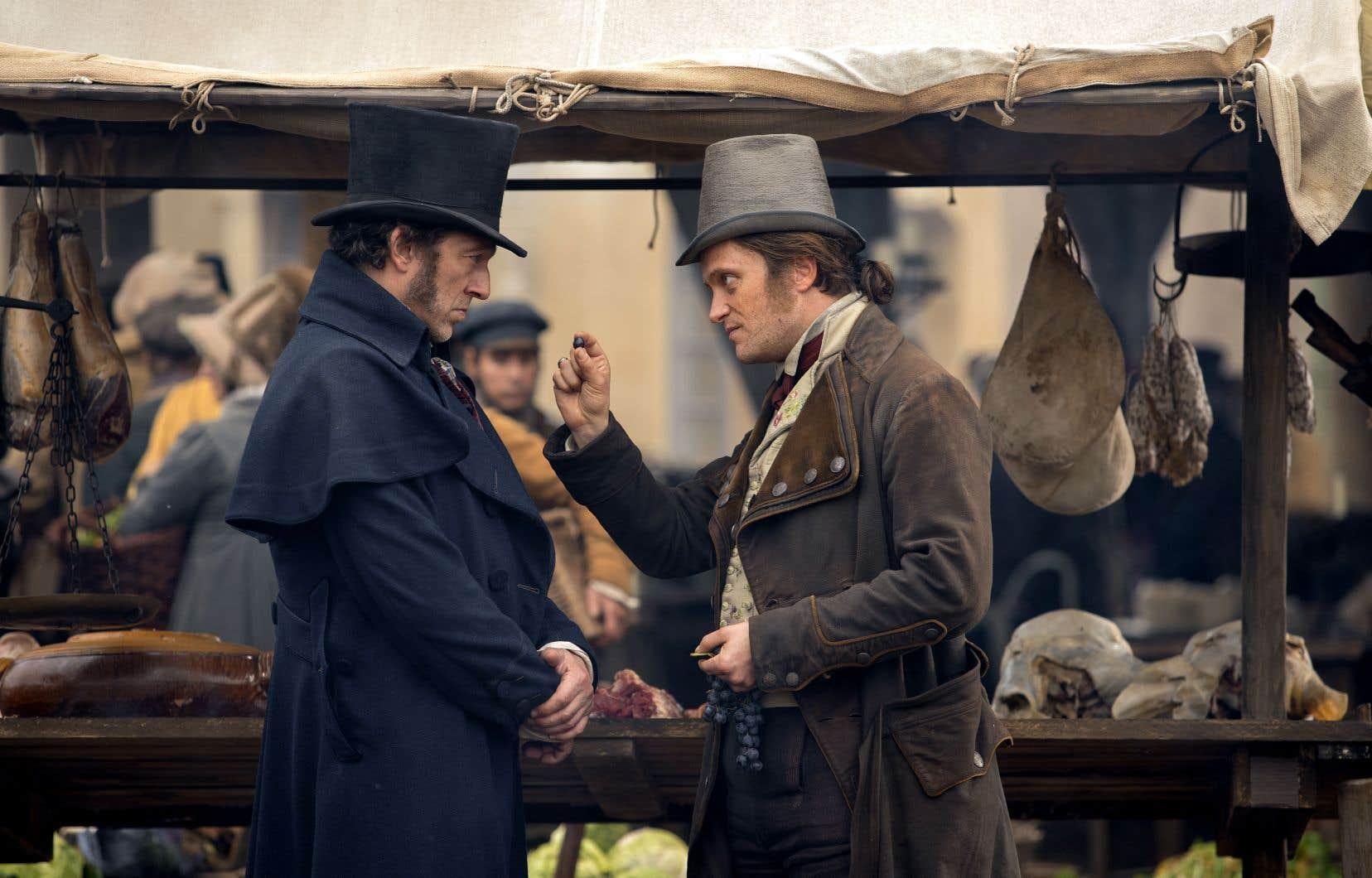 N'en étant pas à son premier rôle de rebelle au grand cœur et aux poings serrés, Vincent Cassel (à gauche) se révèle bouillant, mais prévisible.