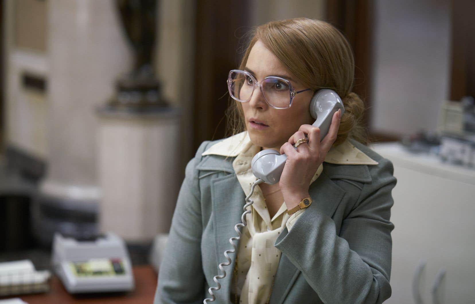 Bianca (Noomi Rapace) se retrouve au milieu de la célèbre prise d'otages de 1973.