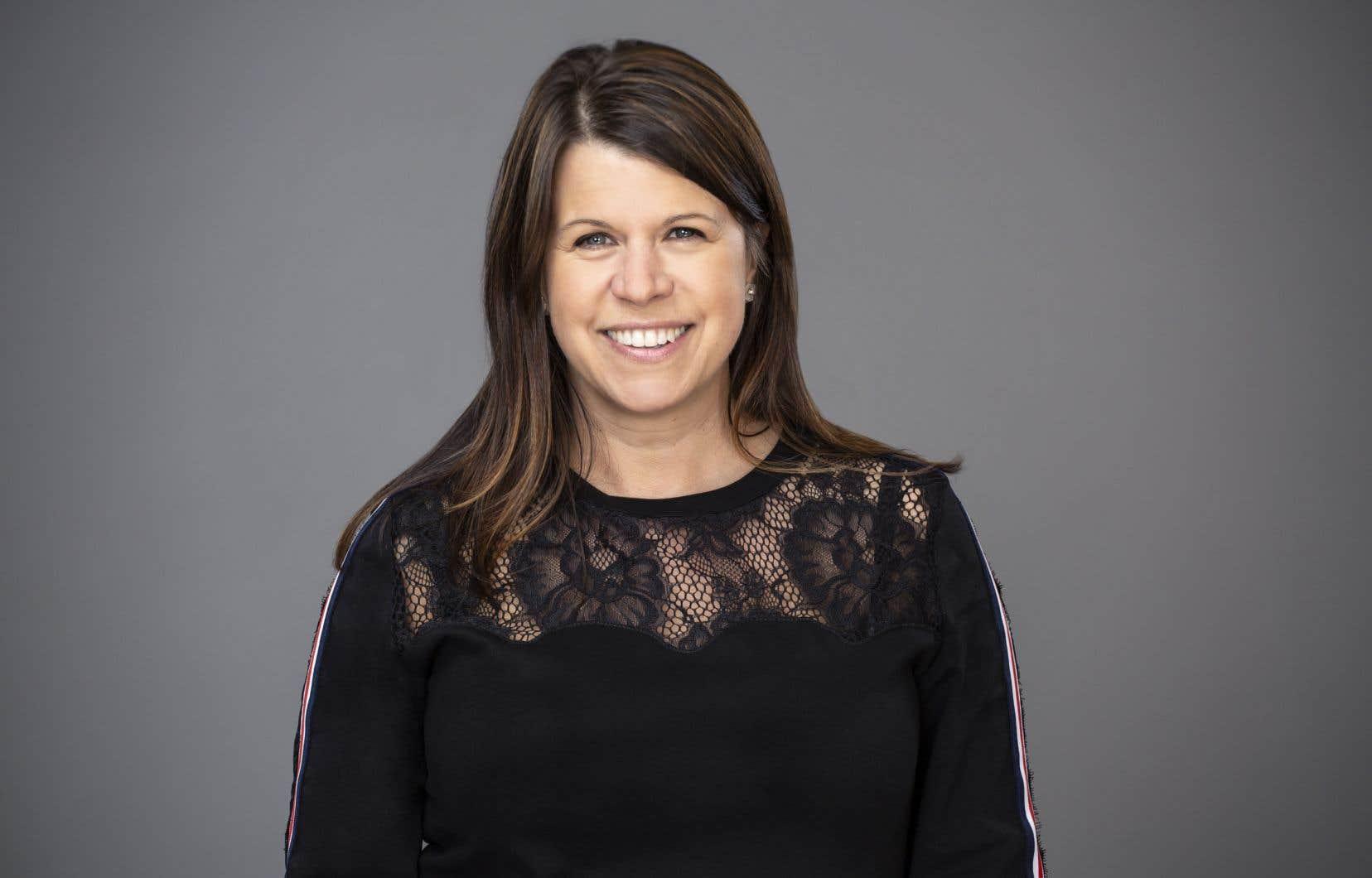 Anne Hudons'est dite «enthousiaste et honorée» d'avoir été choisie pour ce poste.