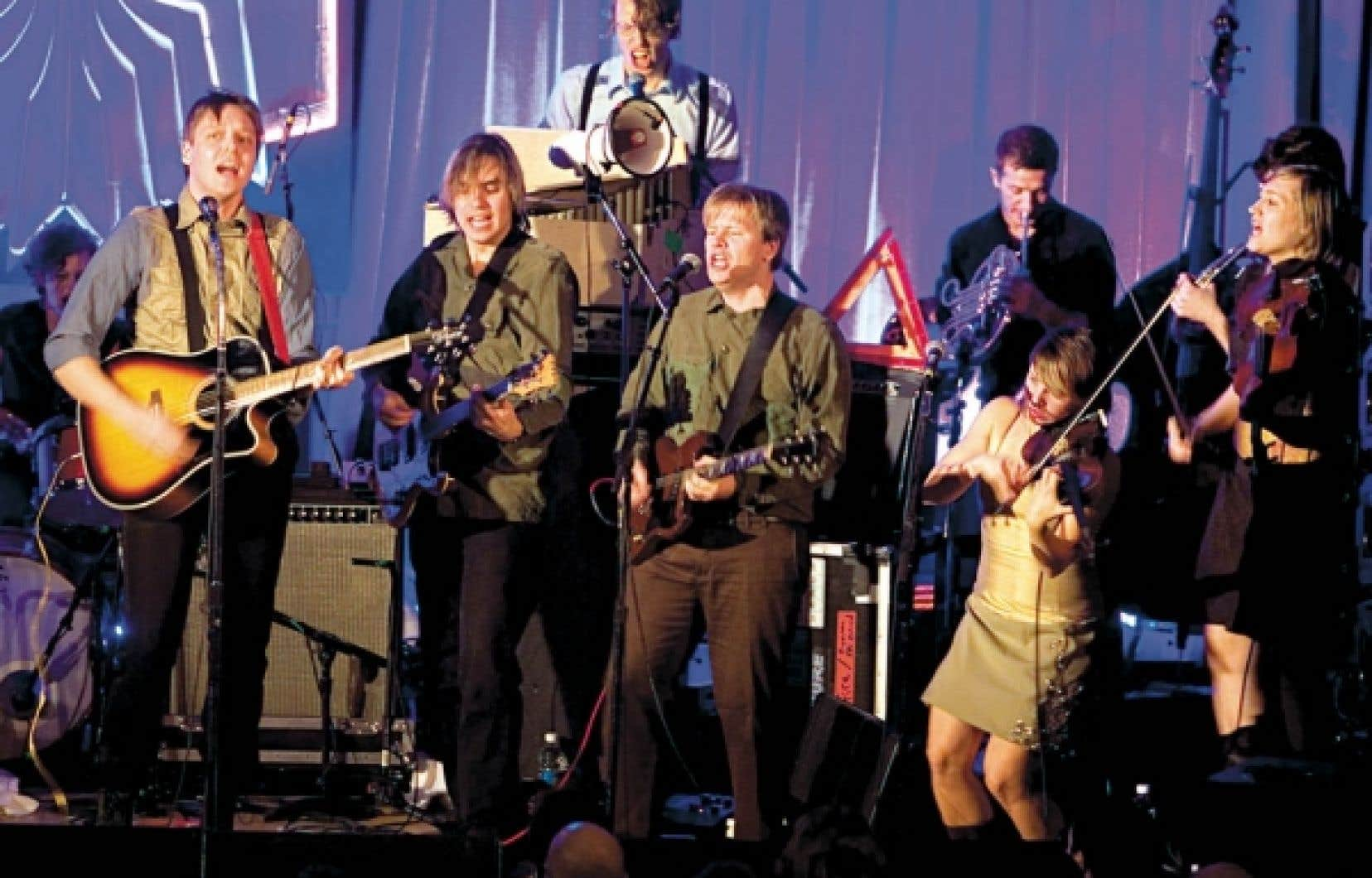 Arcade Fire présentera son spectacle au festival Osheaga ce soir à 21h30.