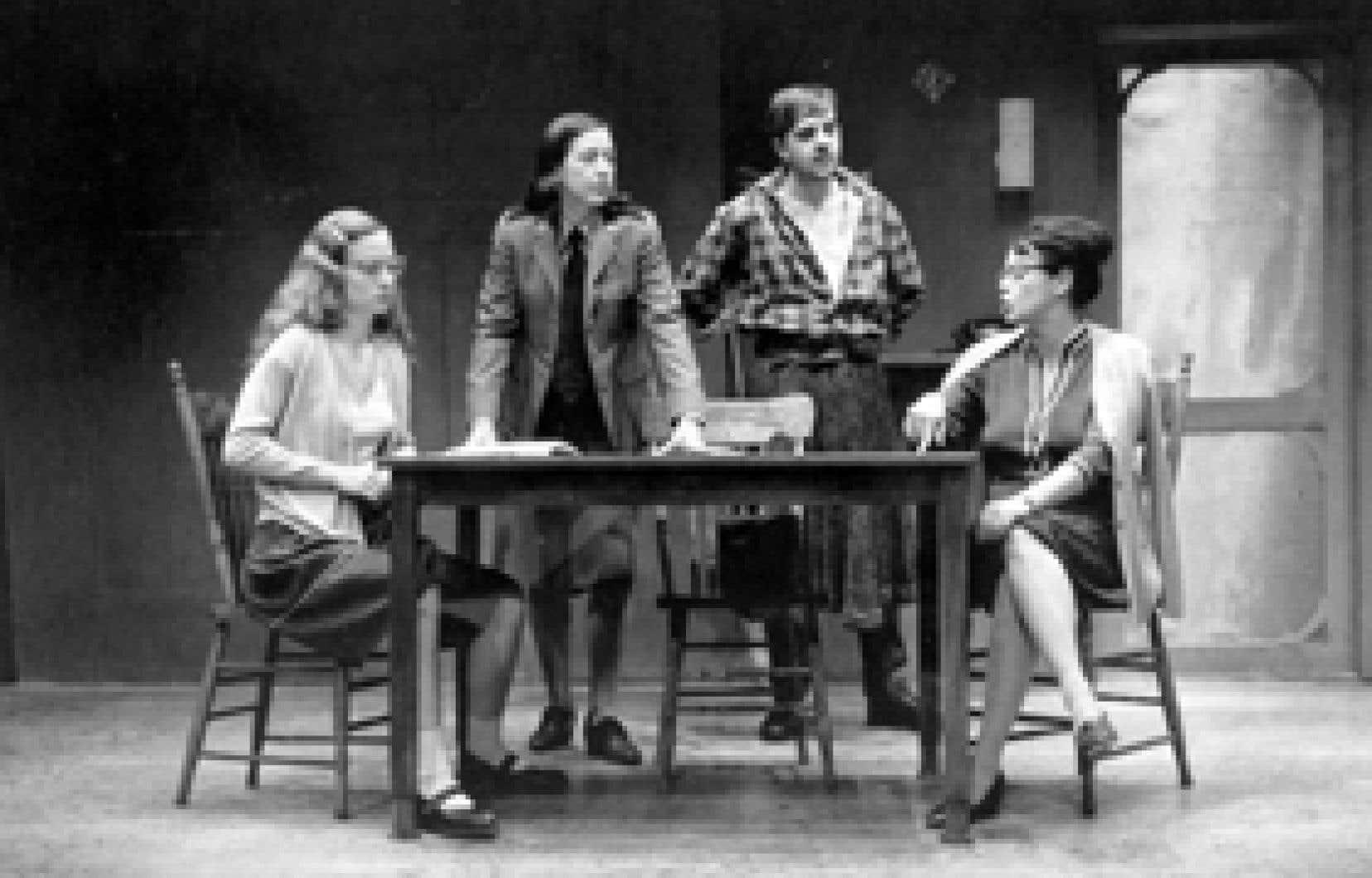 Les Muses orphelines, de Michel Marc Bouchard, telles que présentées au Théâtre d'Aujourd'hui durant la saison 1995-1996