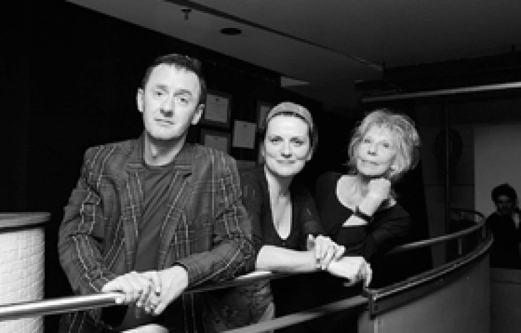 René Richard Cyr, Marie-Thérèse Fortin et Michelle Rossignol ont laissé leurs traces à la direction artistique du Théâtre d'Aujourd'hui