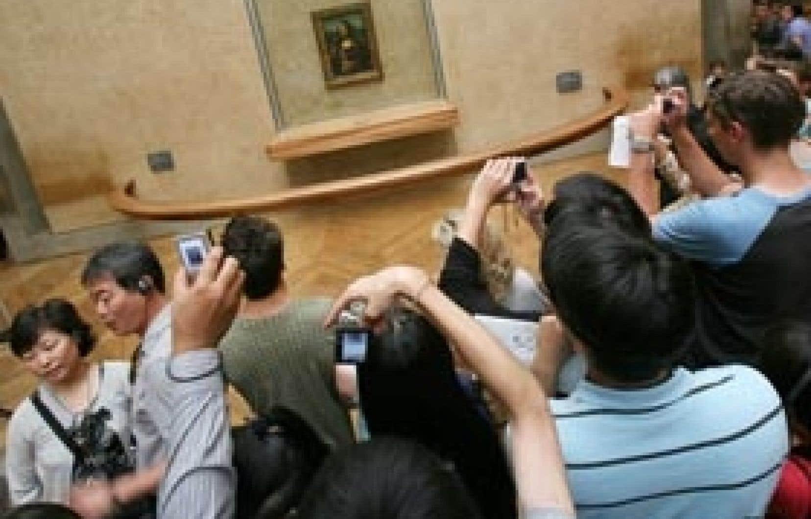 Le Louvre a accueilli 8,3 millions de visiteurs en 2007, dont 189 000 Russes, selon le musée.