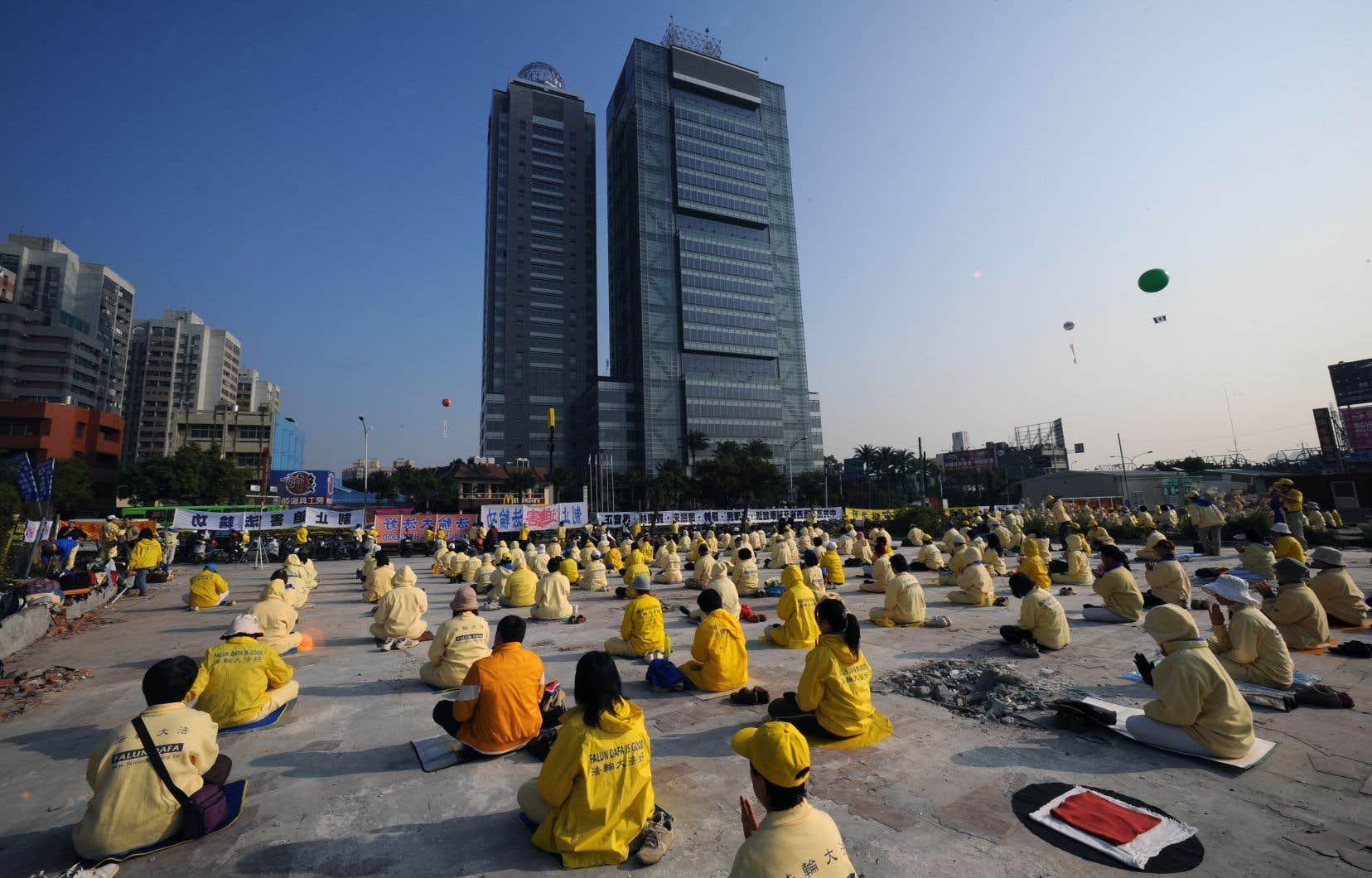 Le mouvement a proliféré dans de nombreux pays, particulièrement auprès de la diaspora chinoise.