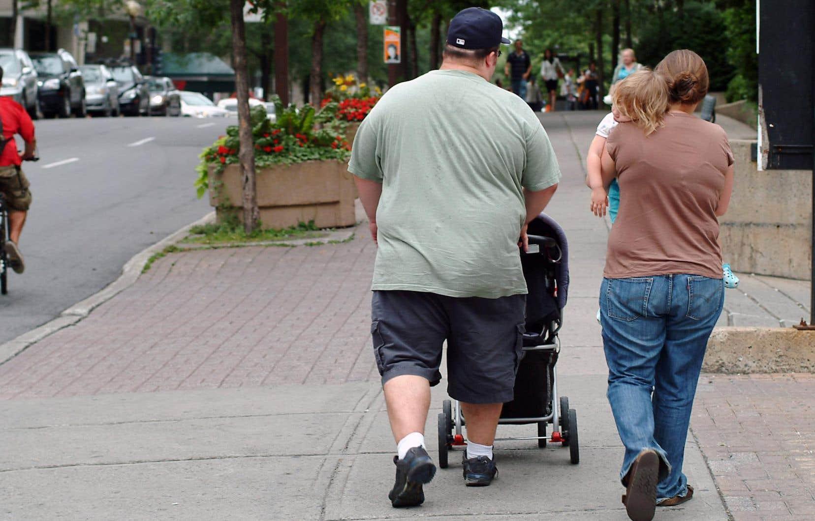 Quelque 376900 adultes sont considérés comme étant obèses au Québec.