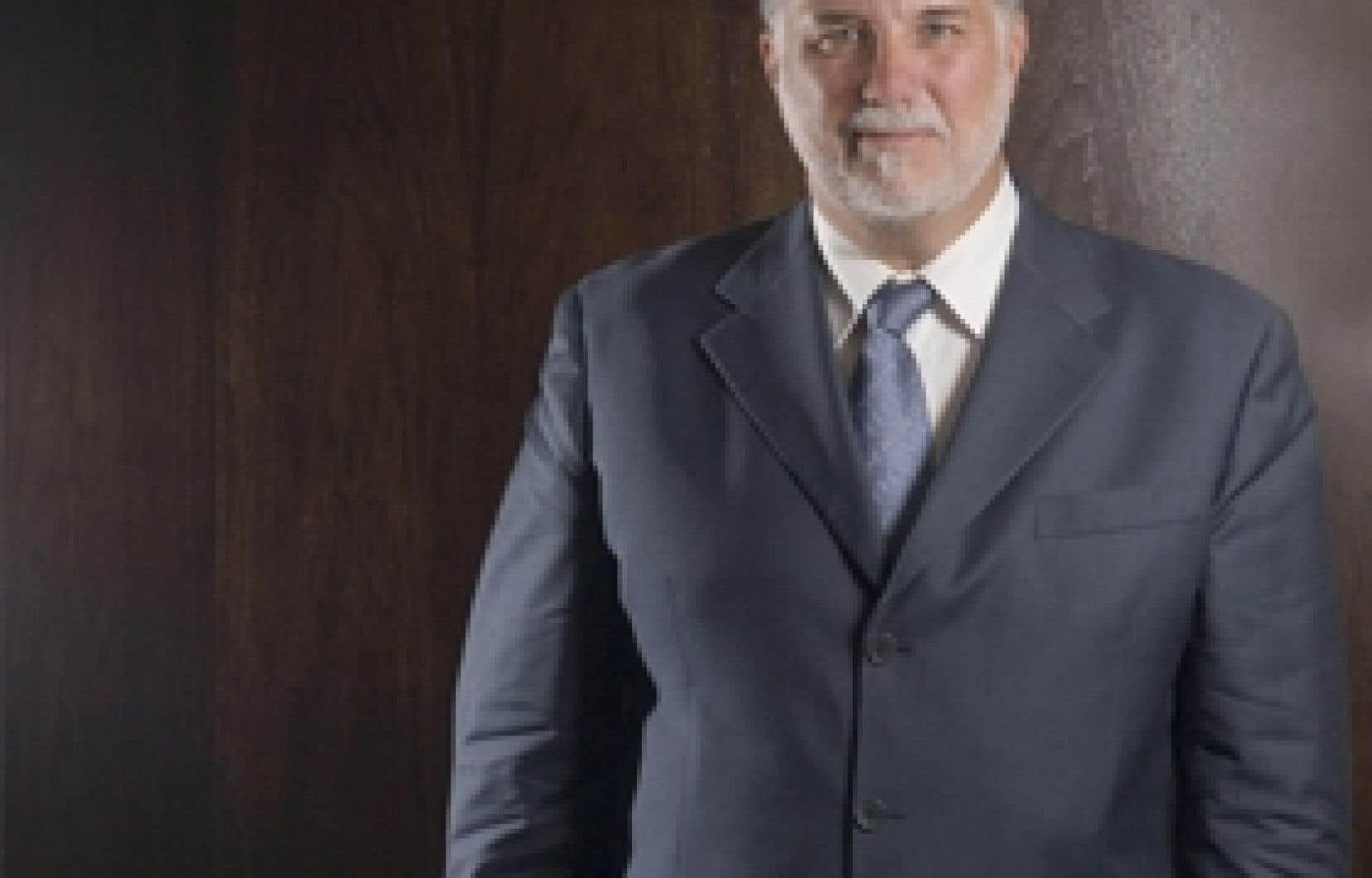 Philippe Couillard, l'ex-ministre de la Santé et des Services sociaux du Québec
