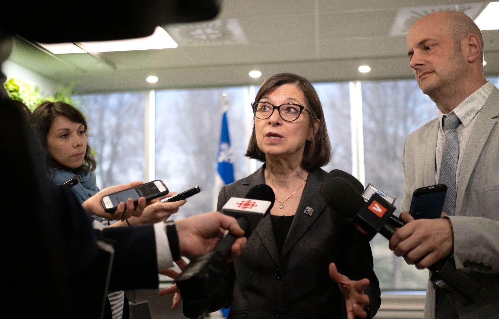 La ministre de la Santé, Danielle McCann, a confirmé le retour des cliniques d'hiver.