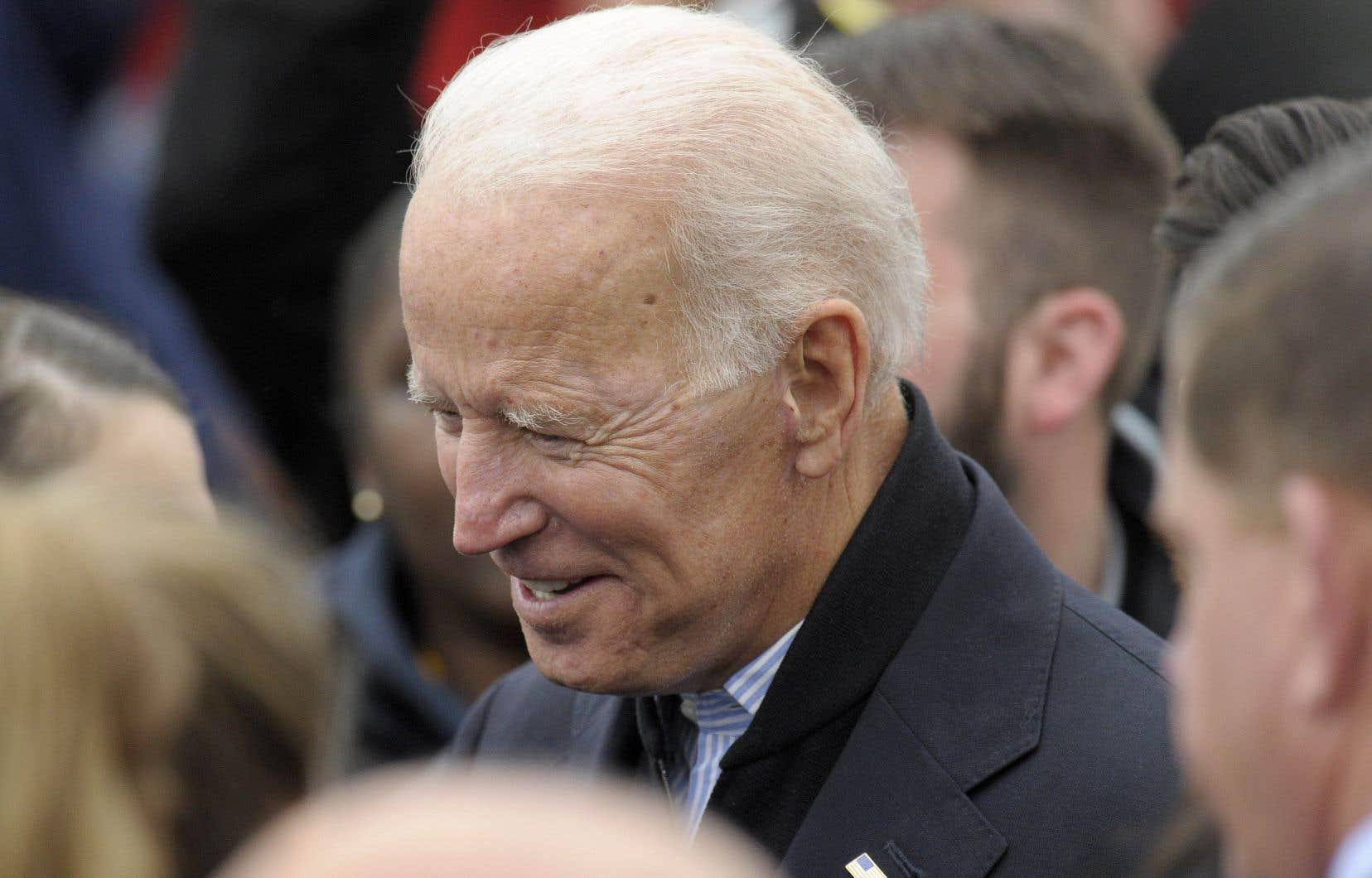 Joe Biden a annoncé sa candidature à l'investiture du Parti démocrate jeudi.
