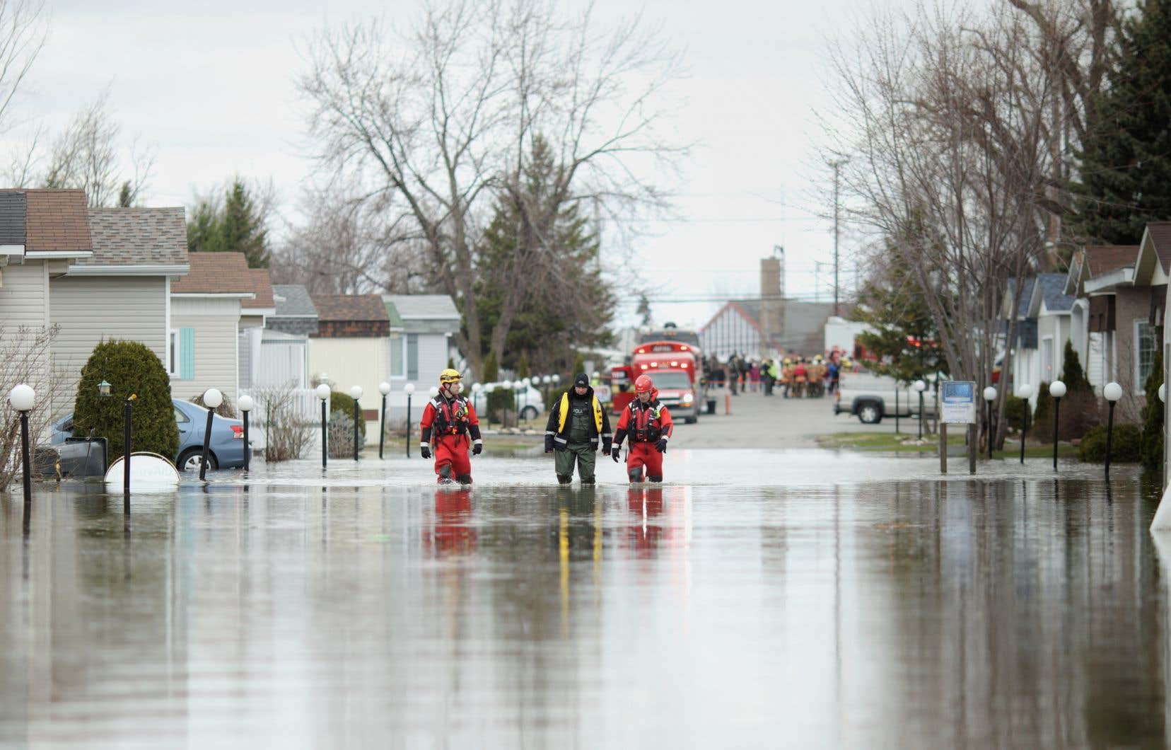 Les crues printanières font présentement des dégâts au Québec et dans l'est du Canada.