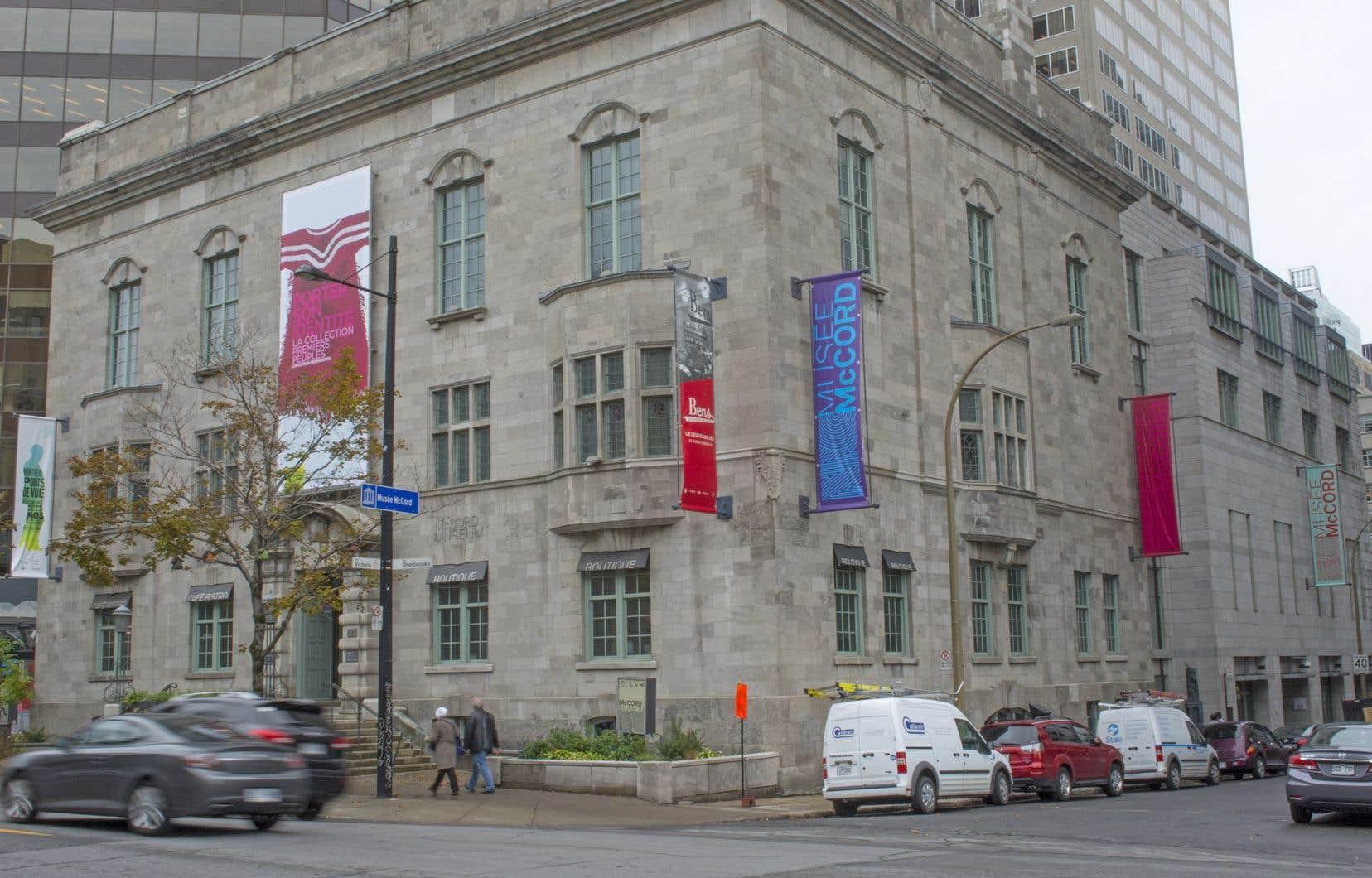 Le bâtiment où loge le Musée McCord appartient à l'Université McGill.