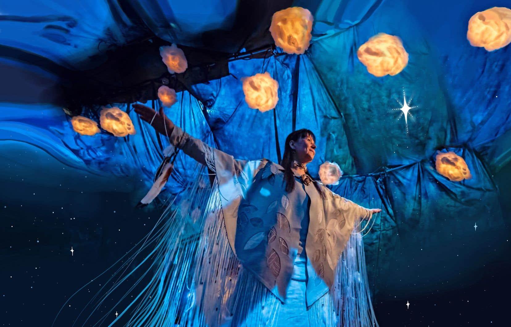 Le spectacle «Mokatek et l'étoile disparue», du directeur artistique Dave Jenniss, sera présenté au Centre national des arts d'Ottawa en septembre.