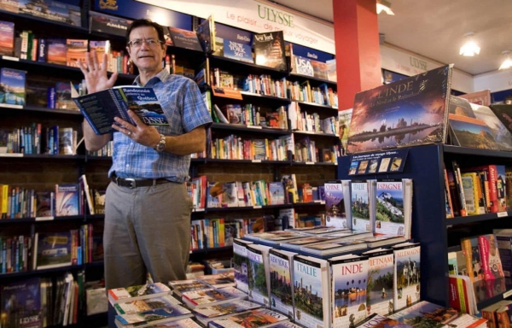 L'entrepreneur Daniel Desjardins a eu l'idée de ce qui deviendra la librairie de voyage Ulysse à l'âge de 24 ans.